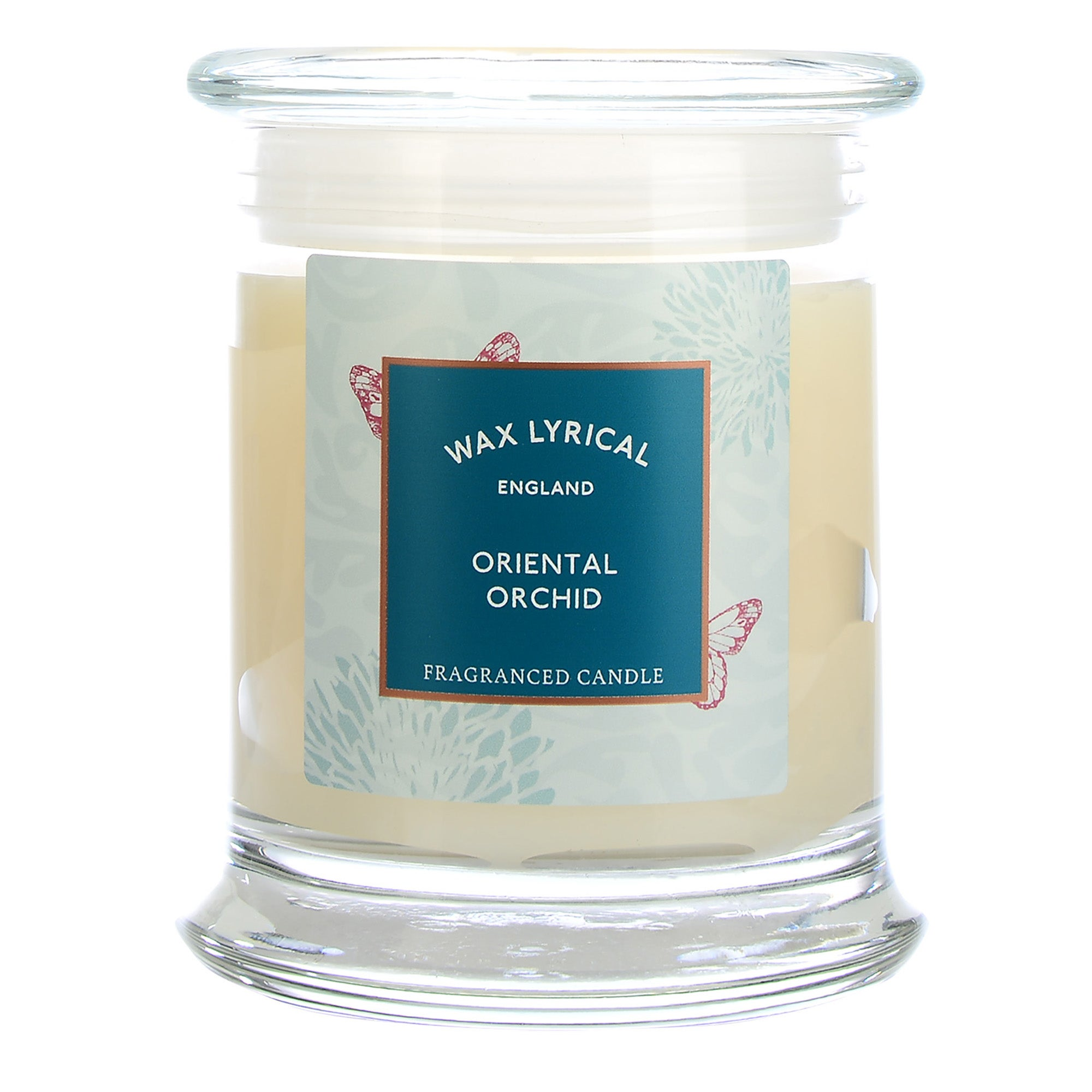 Image of Destinations Oriental Orchid Candle Jar Cream (Natural)