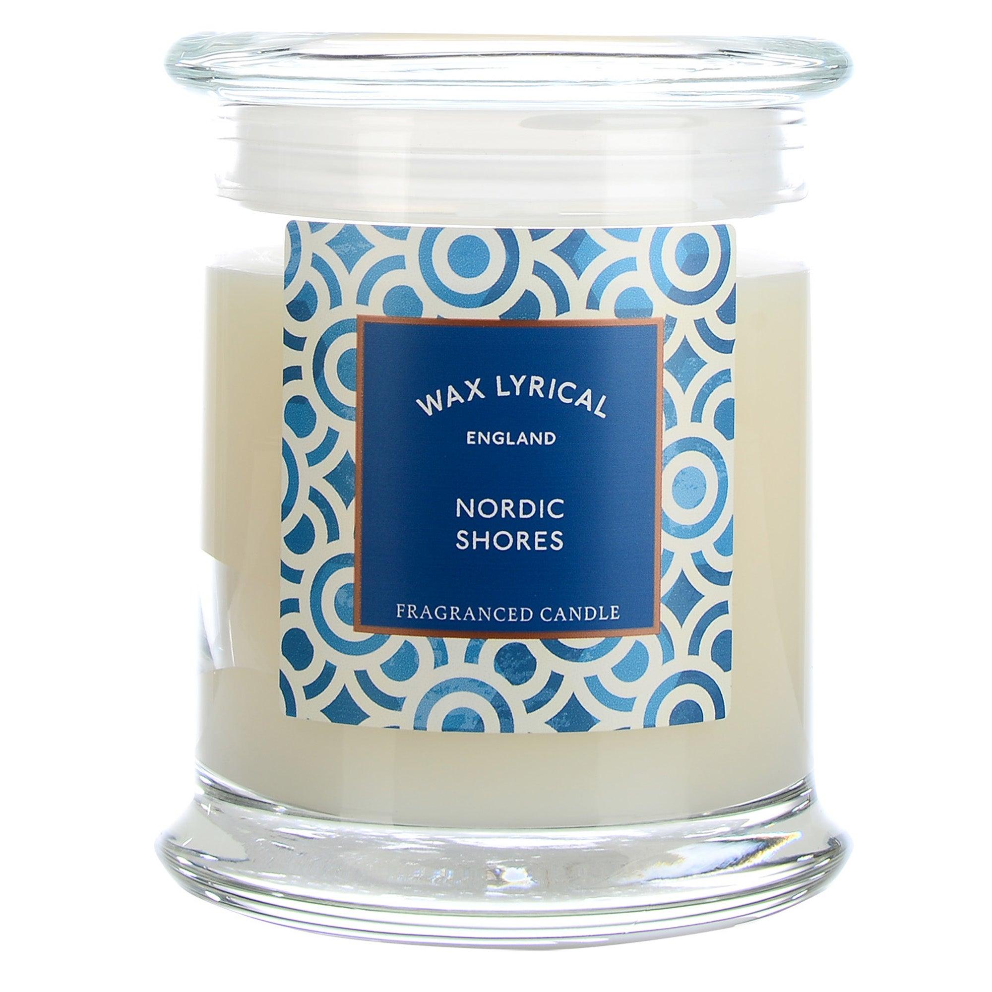 Image of Destinations Nordic Shores Candle Jar Cream (Natural)
