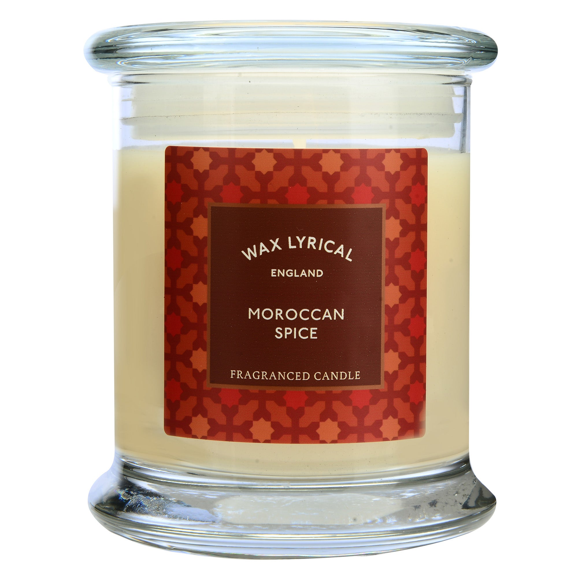 Image of Destinations Moroccan Spice Candle Jar Cream (Natural)
