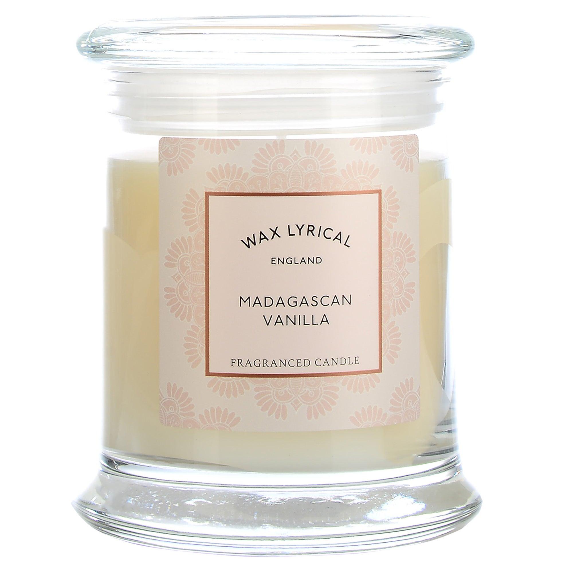 Image of Destinations Madagascan Vanilla Candle Jar Cream (Natural)
