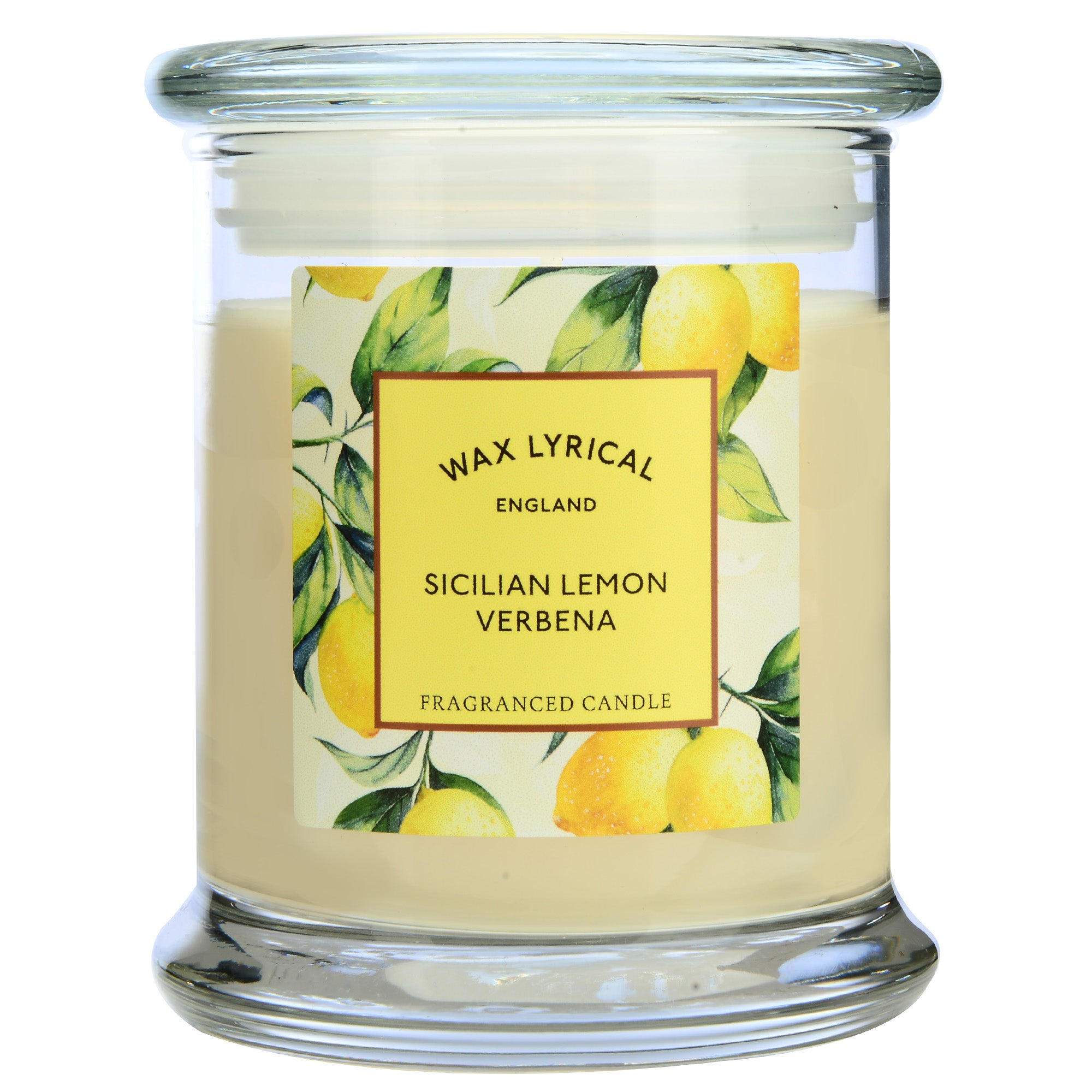 Image of Destinations Lemon Verbena Candle Jar Cream (Natural)