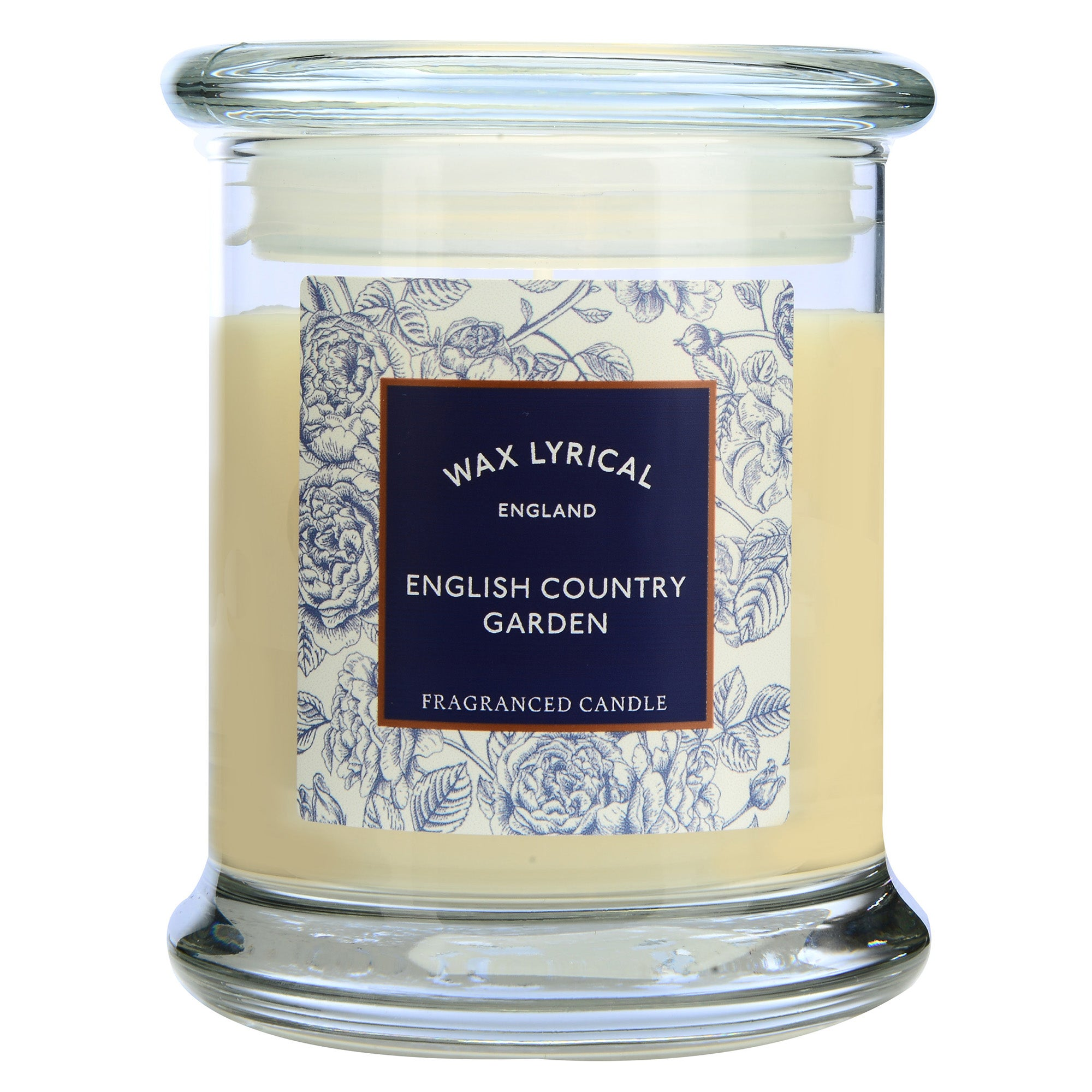 Image of Destinations English Country Garden Candle Jar Cream (Natural)