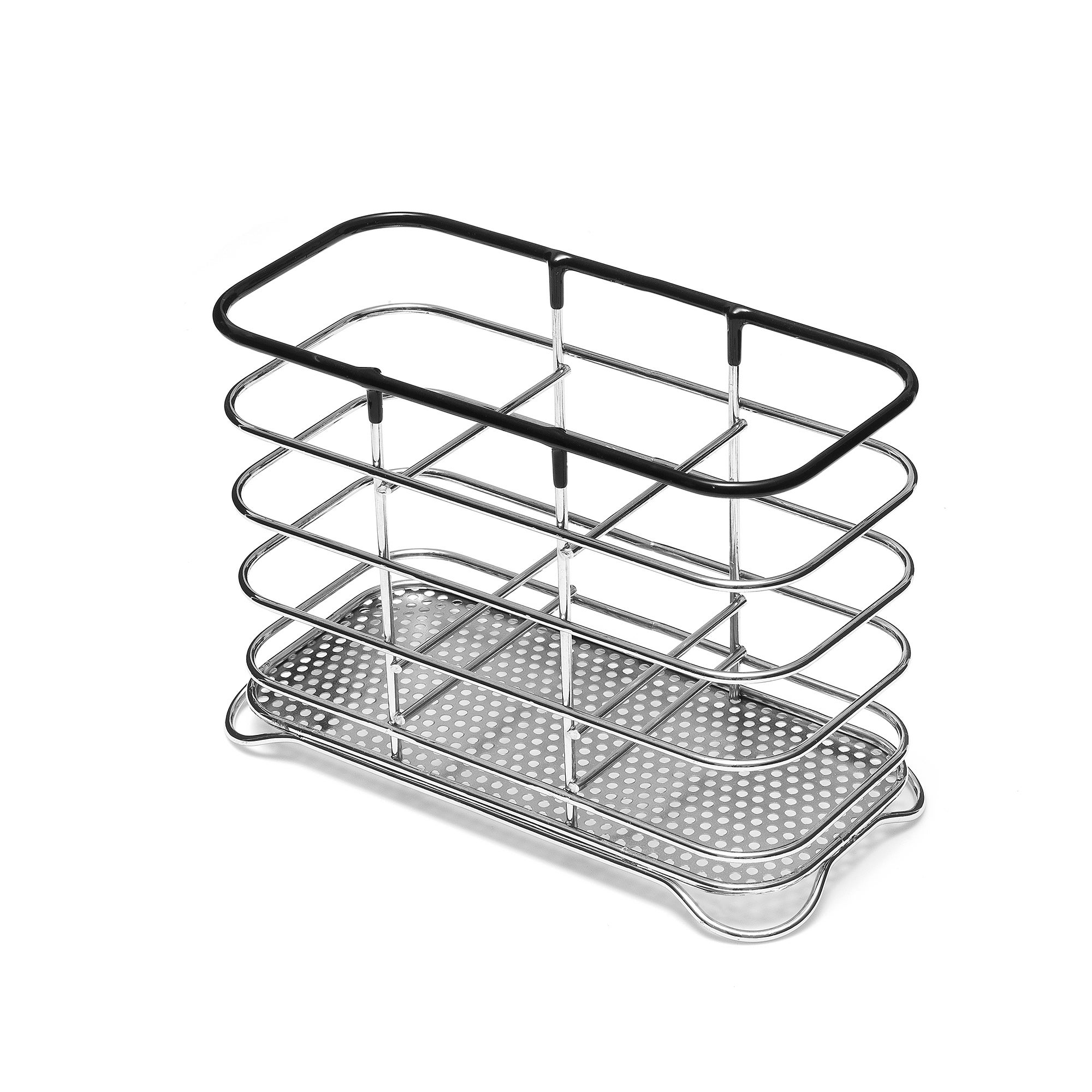 Photo of Addis black wire cutlery drainer black