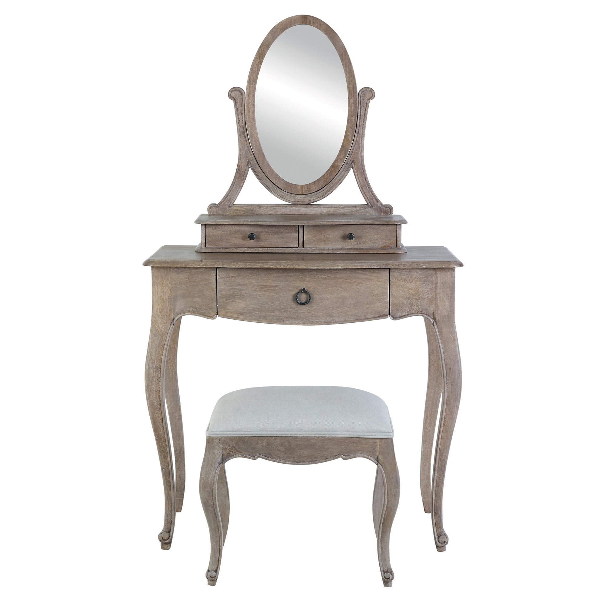 Photo of Amelie dressing table set brown