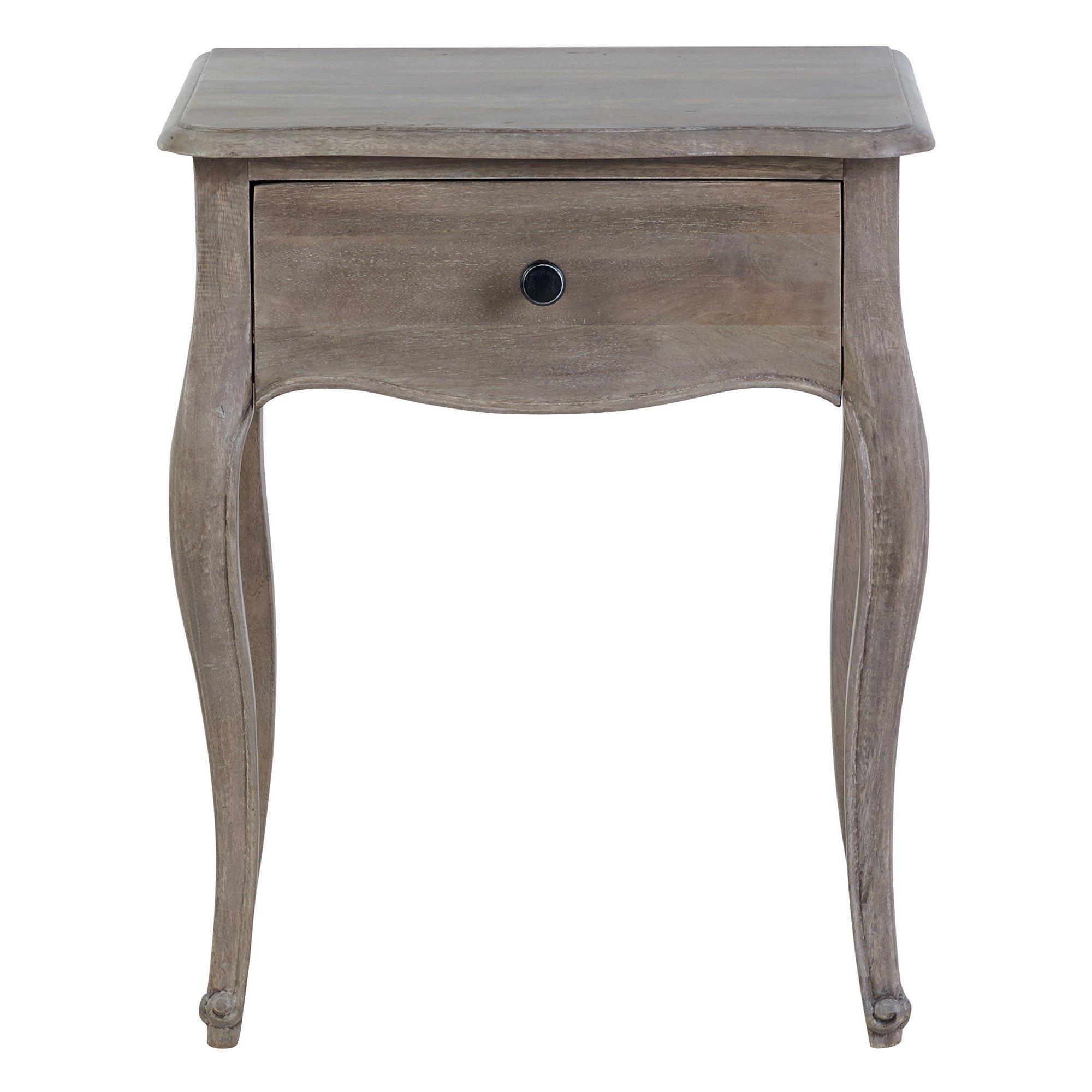 Amelie Side Table Brown