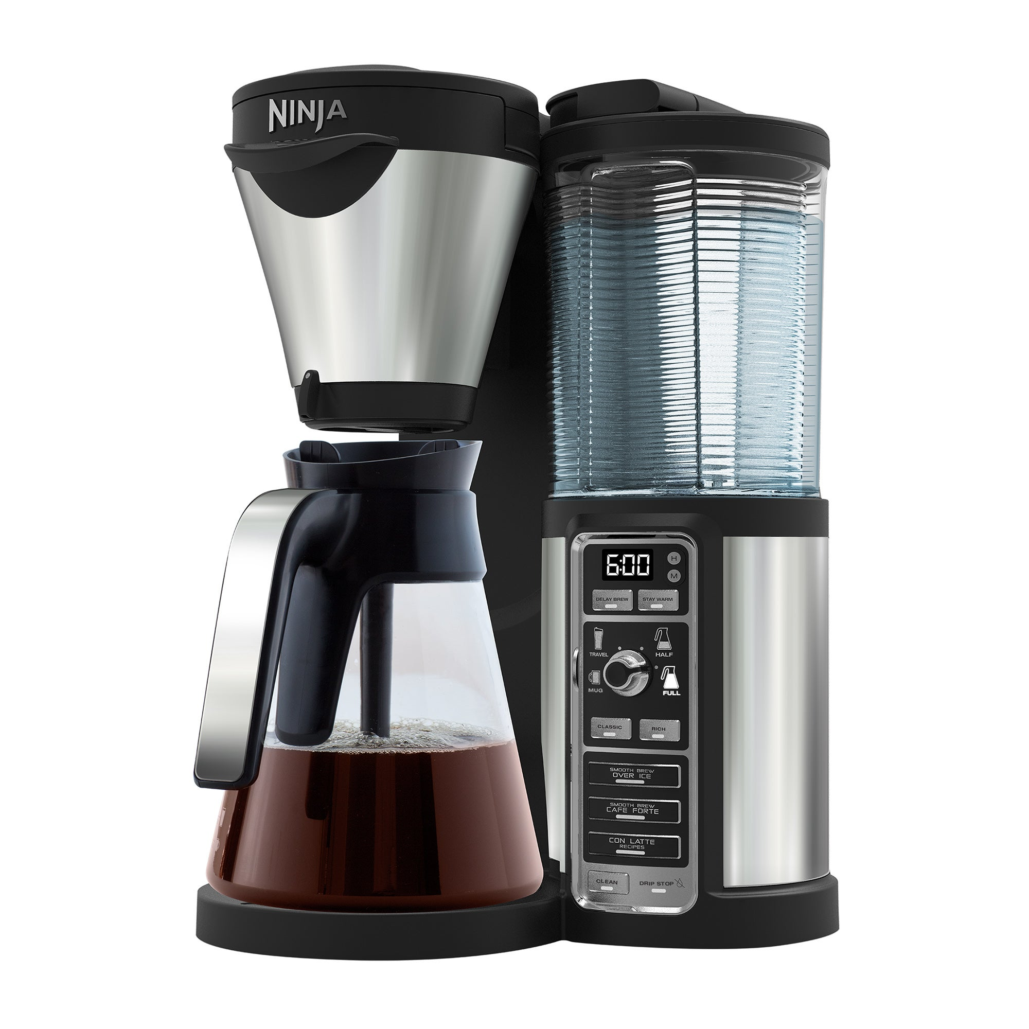 Photo of Ninja coffee bar with glass carafe cf060 steel -silver-
