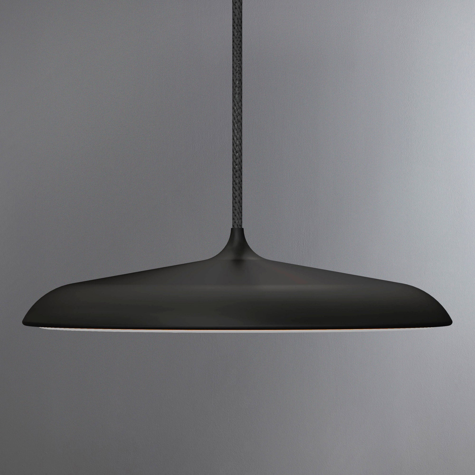 Image of Artist Small Black LED Pendant Light Fitting Black