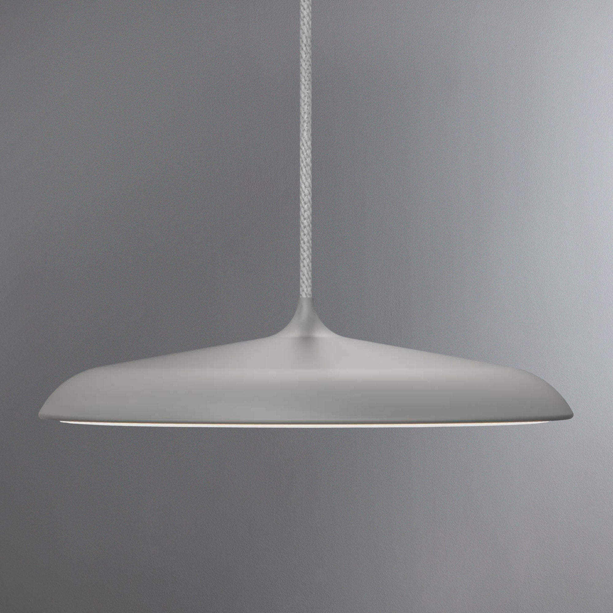 Image of Artist Small Grey LED Pendant Light Fitting Grey