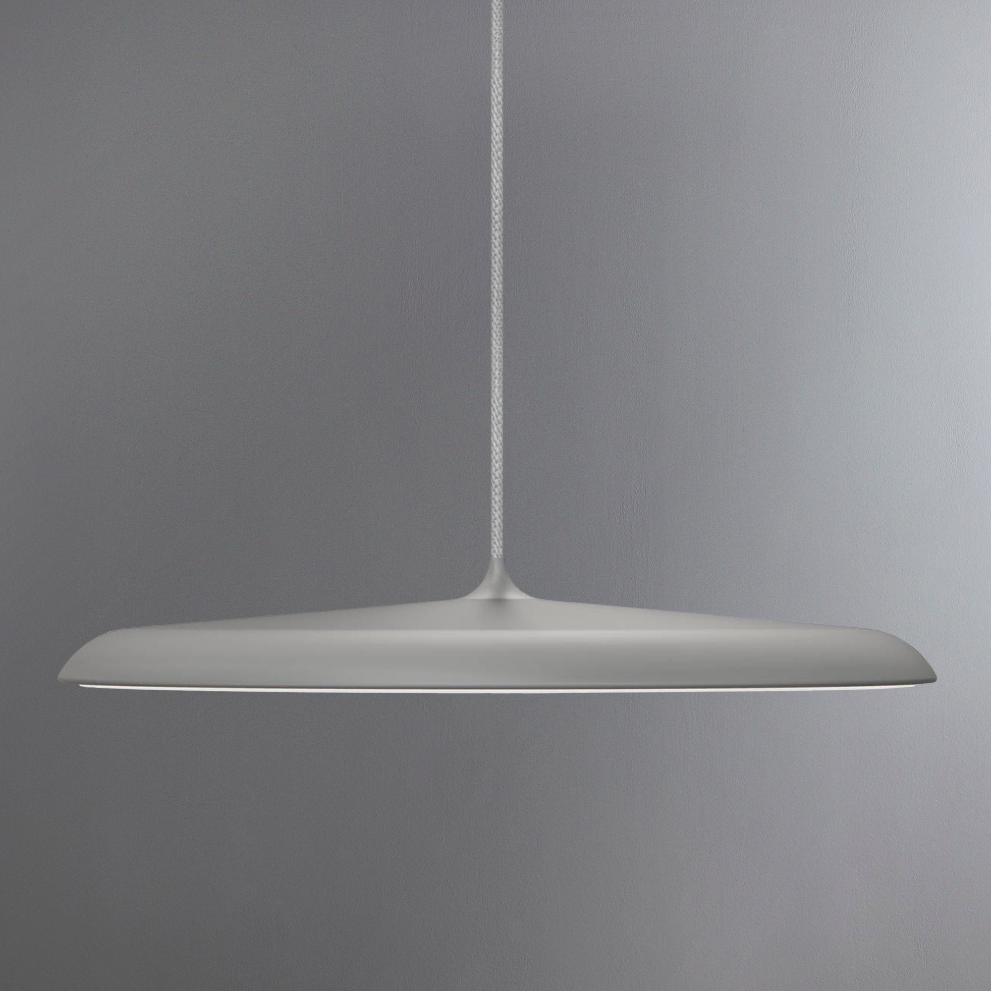 Image of Artist Large Grey LED Pendant Light Fitting Grey