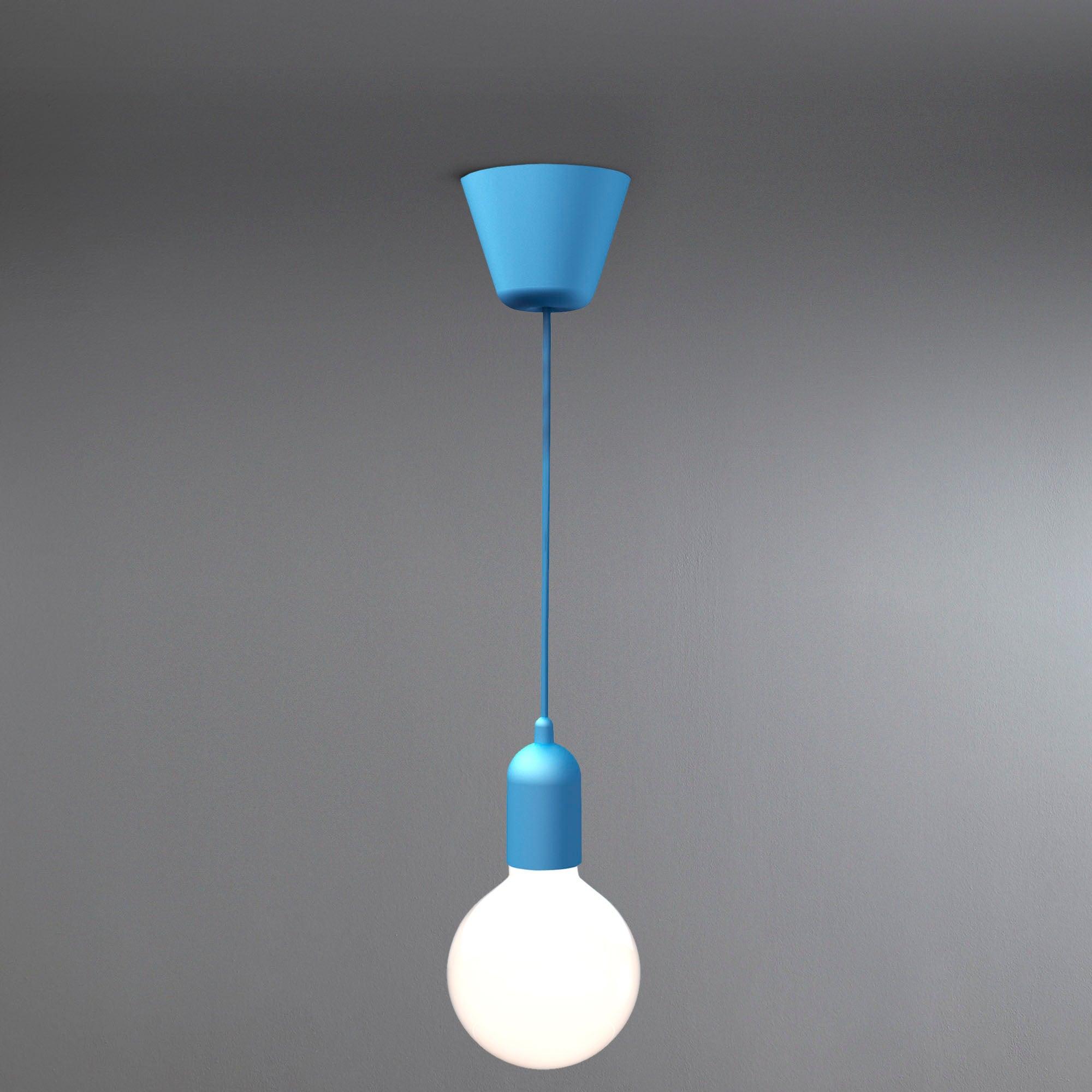 Photo of Funk suspension light blue light fitting blue