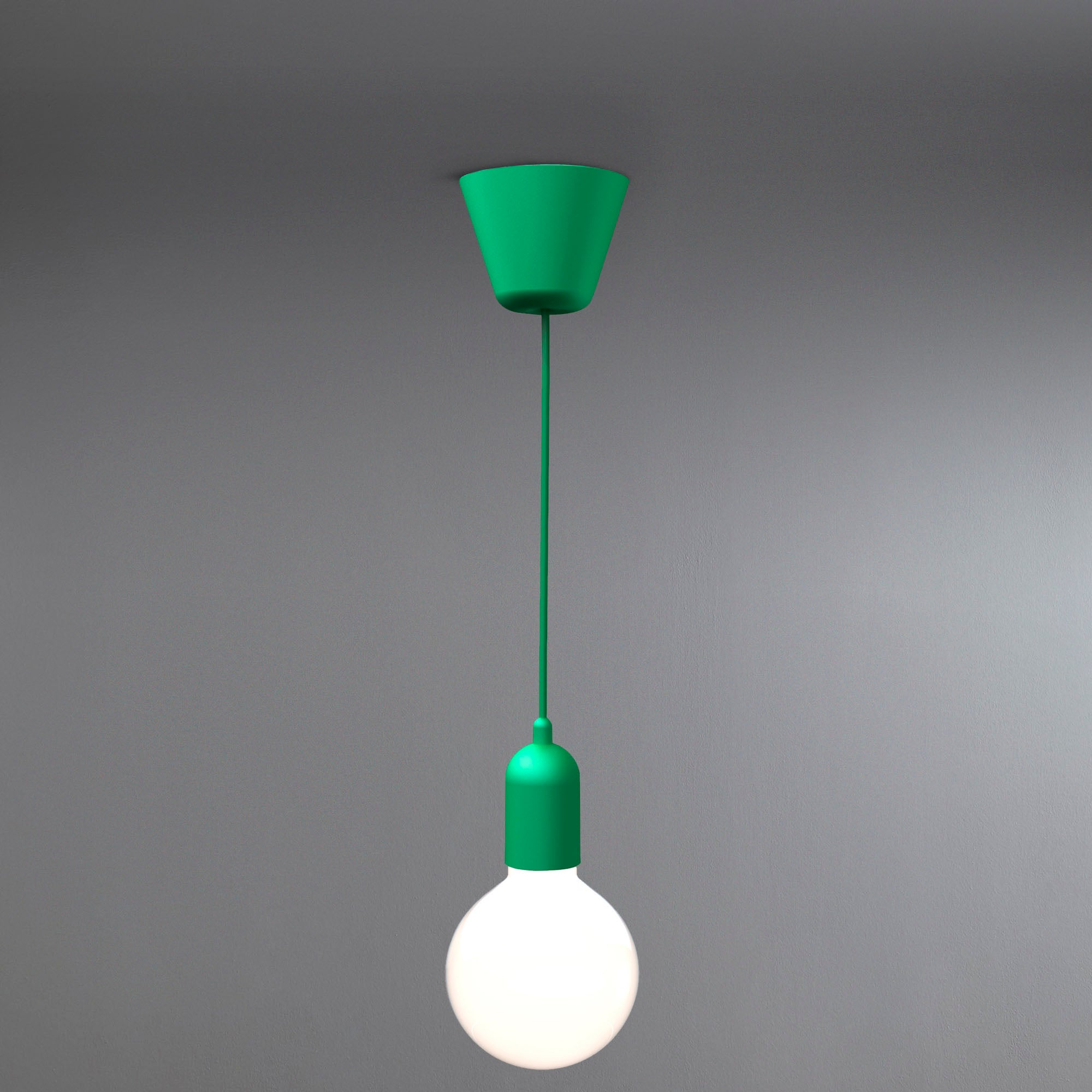 Photo of Funk suspension light green light fitting green
