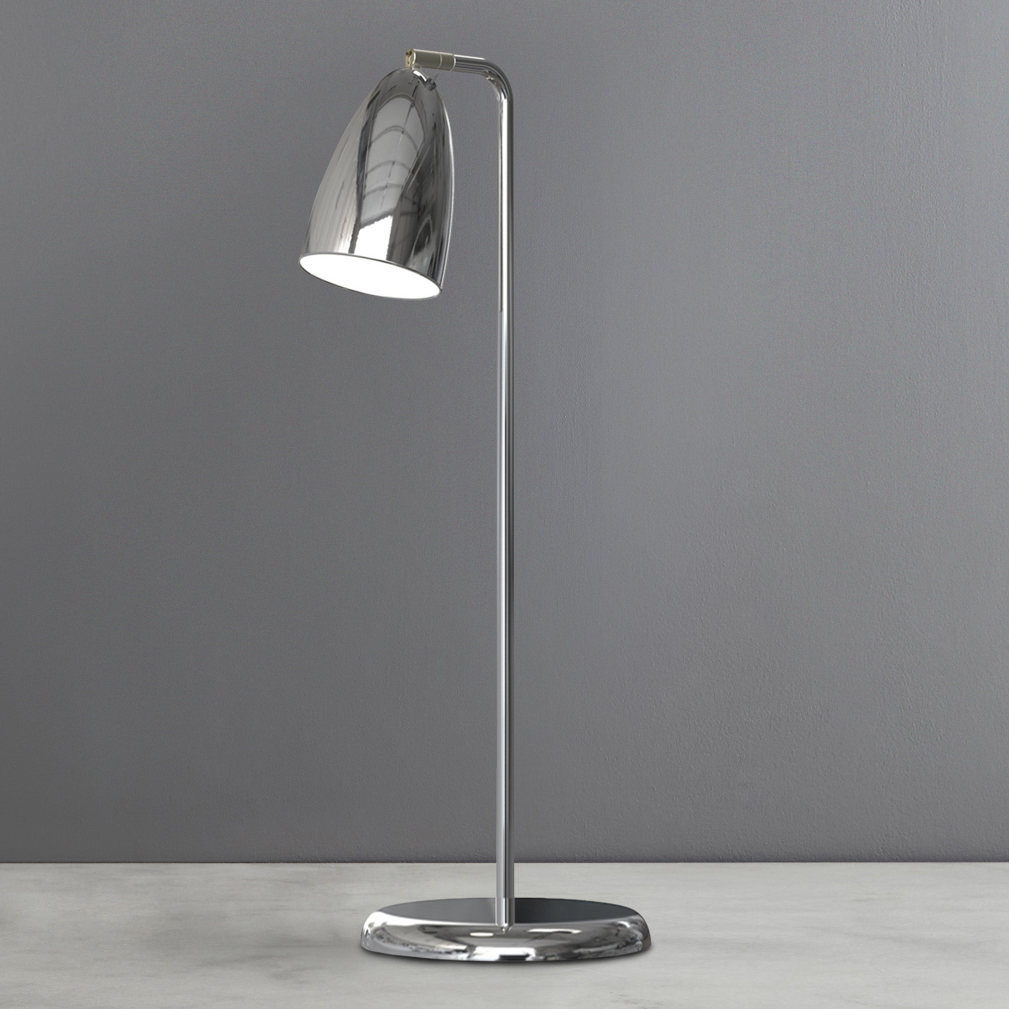 Photo of Nexus chrome table lamp chrome