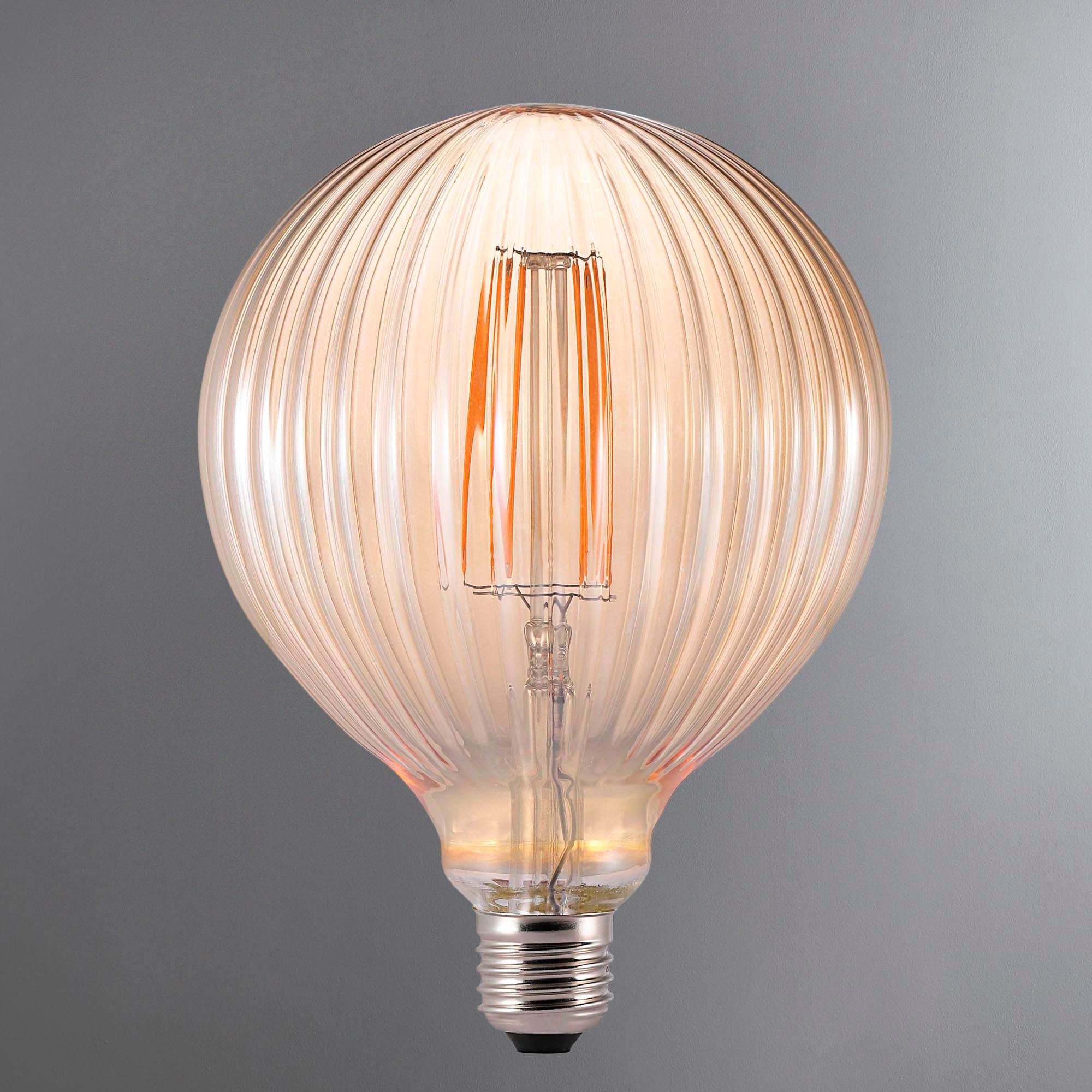 Image of Avra Brown Filament E27 Bulb Brown