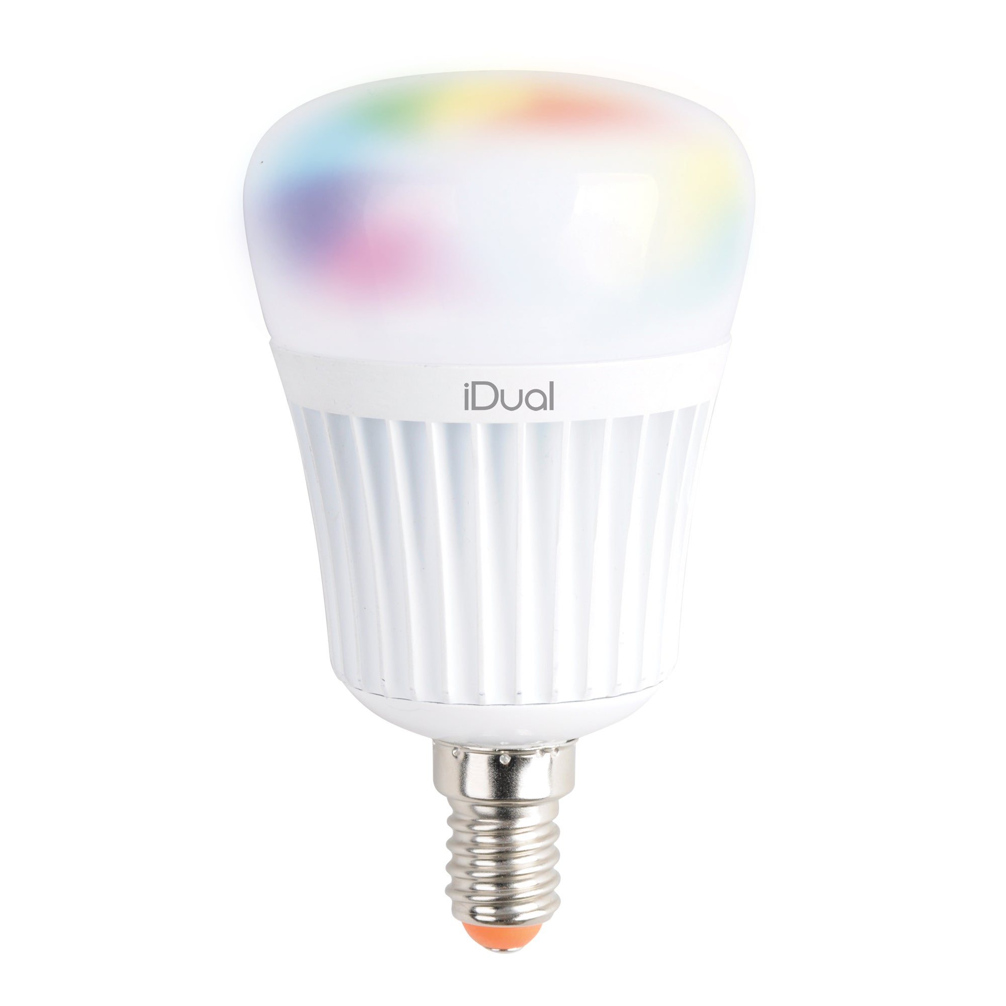 Image of iDual 40 Watt Small Edison Screw LED Bulb Pack of 2 with Remote Control White