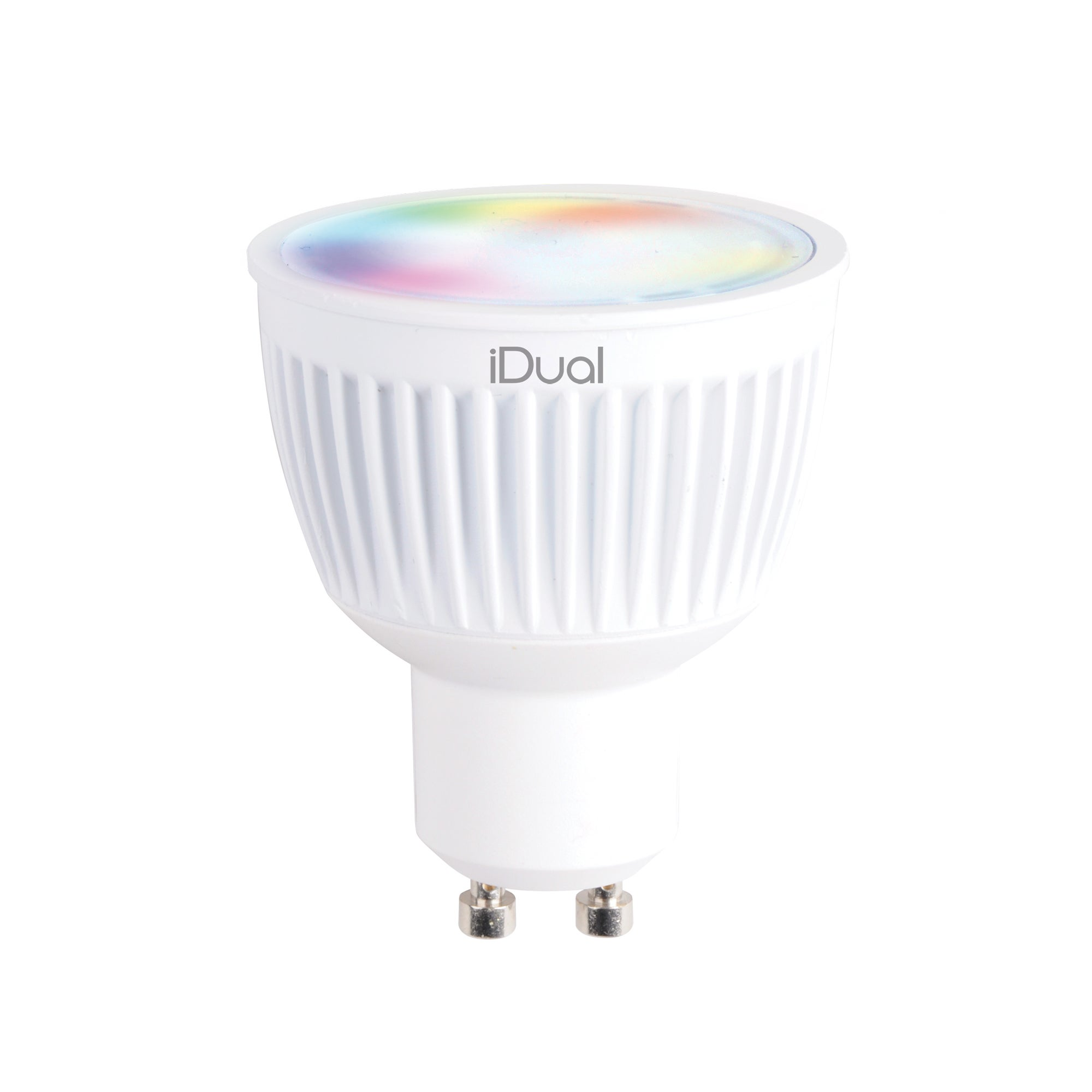 Image of iDual 35 Watt GU10 LED Bulb Pack of 2 with Remote Control White