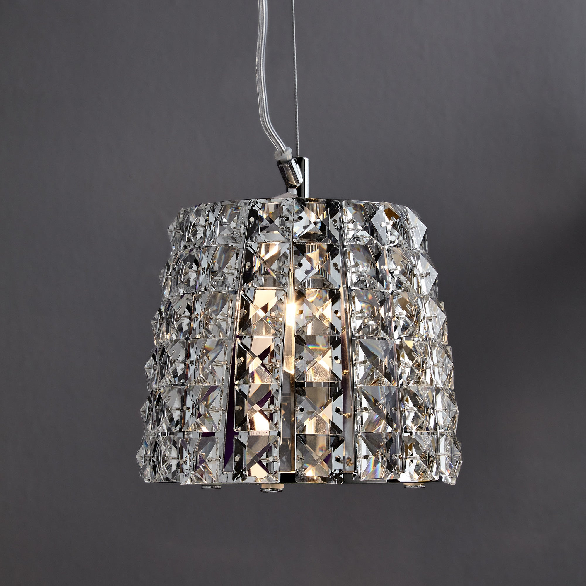 Image of Marquis by Waterford Moy Chrome Light Pendant Chrome