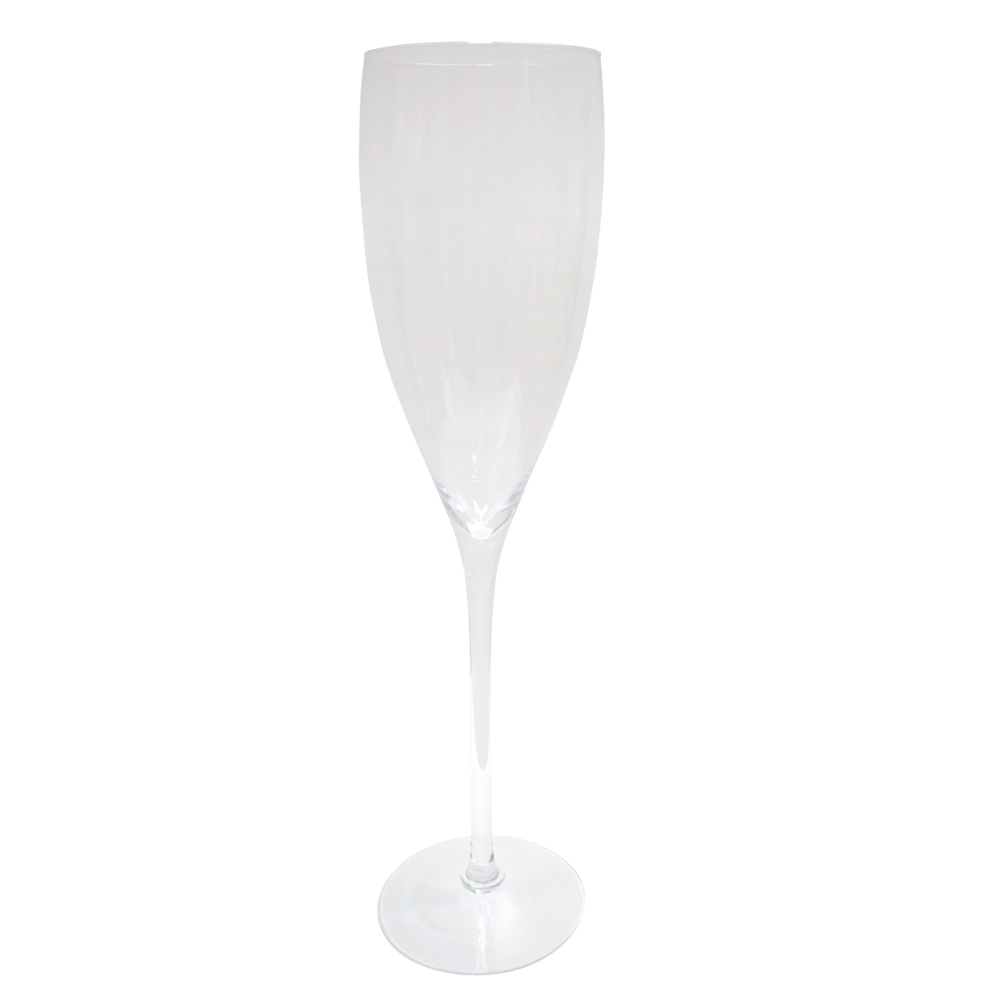 Photo of Champagne flute vase clear