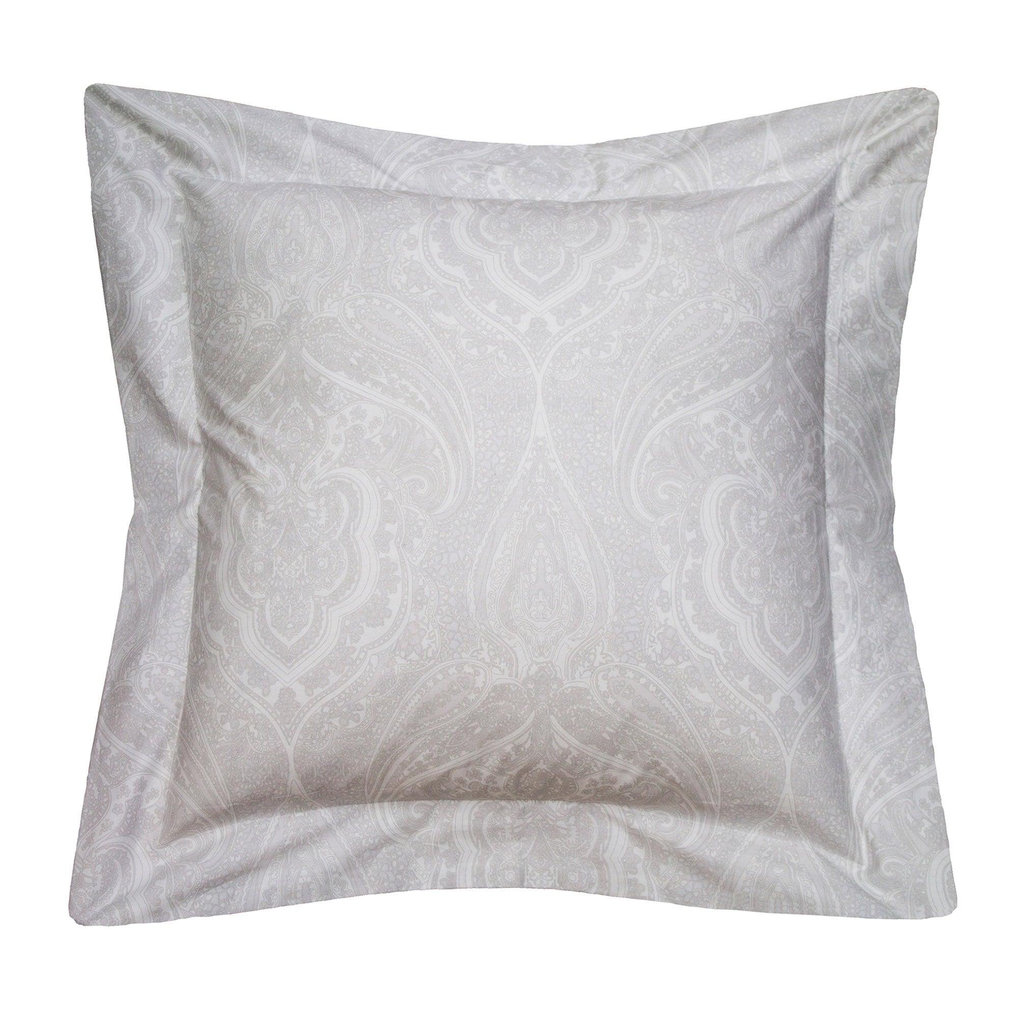 Image of Holly Willoughby Paisley Natural Cushion Natural
