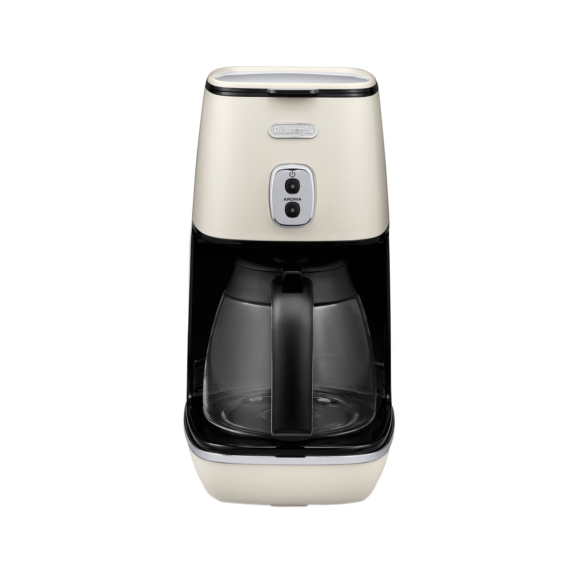 Photo of Delonghi distinta white coffee machine icmi211w white