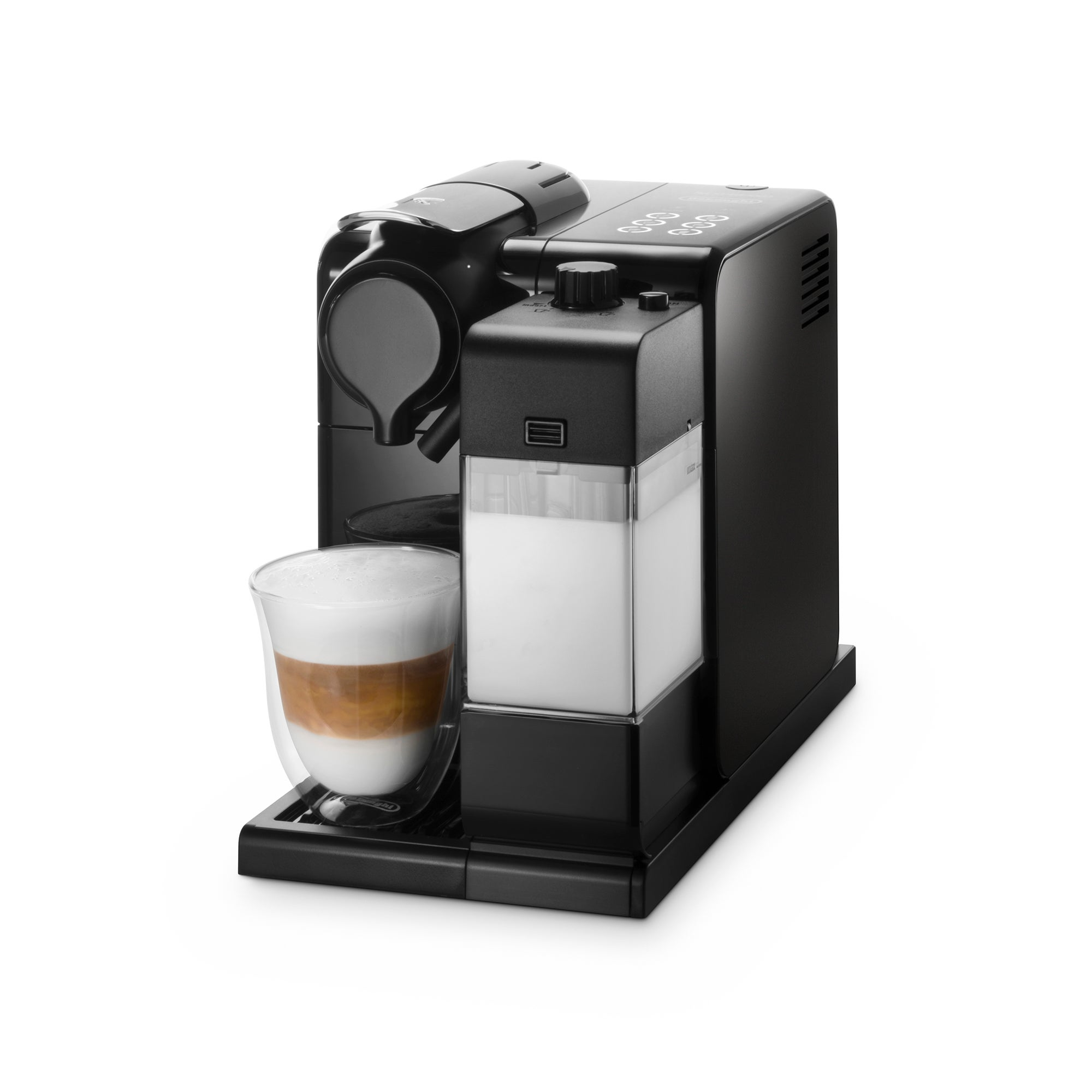 Photo of Delonghi nespresso lattis black coffee machine en550b black