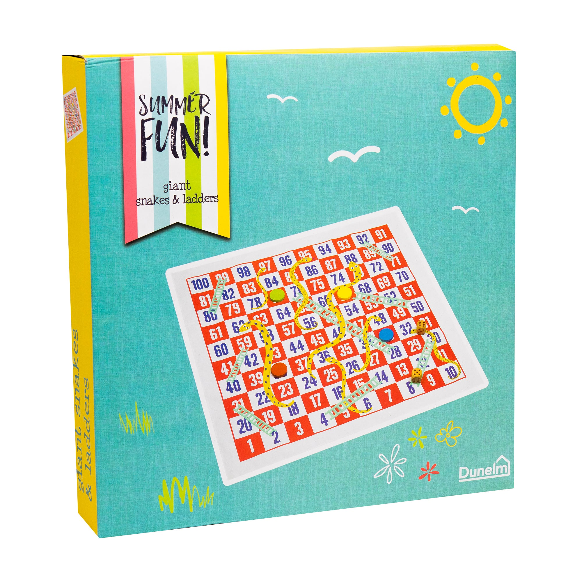 Photo of Snakes and ladders garden game multi coloured