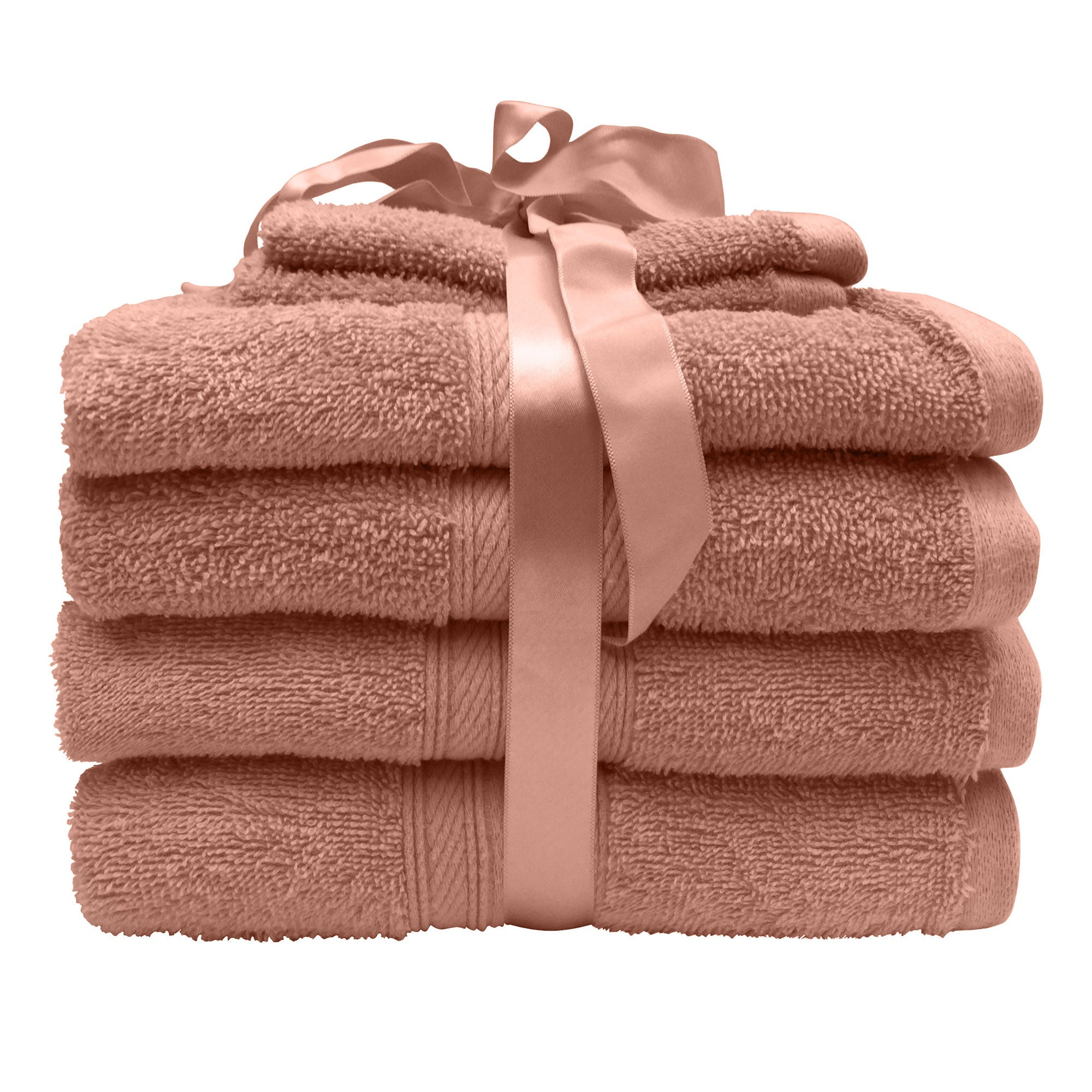 Photo of 6 piece blush pink towel bale blush -pink-
