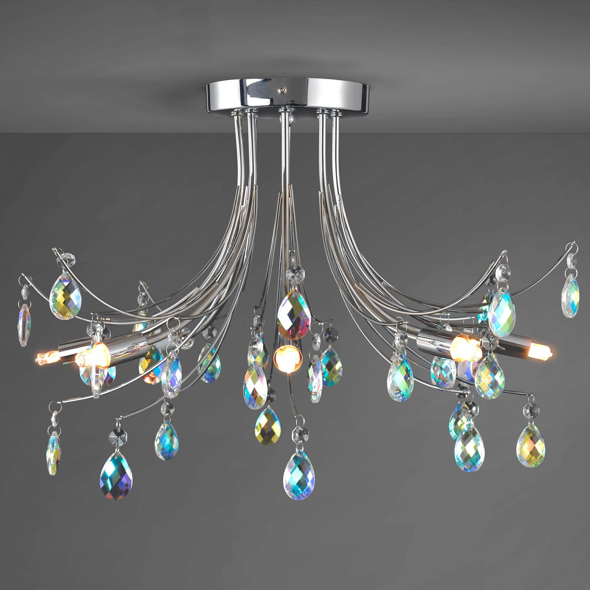 Photo of Atrani ceiling light chrome