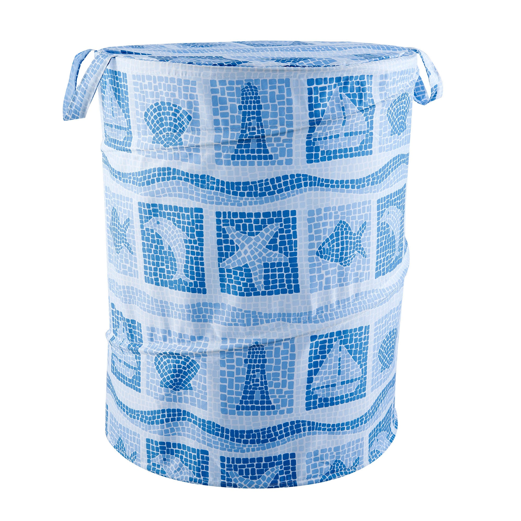 Photo of Seascape pop up bin blue