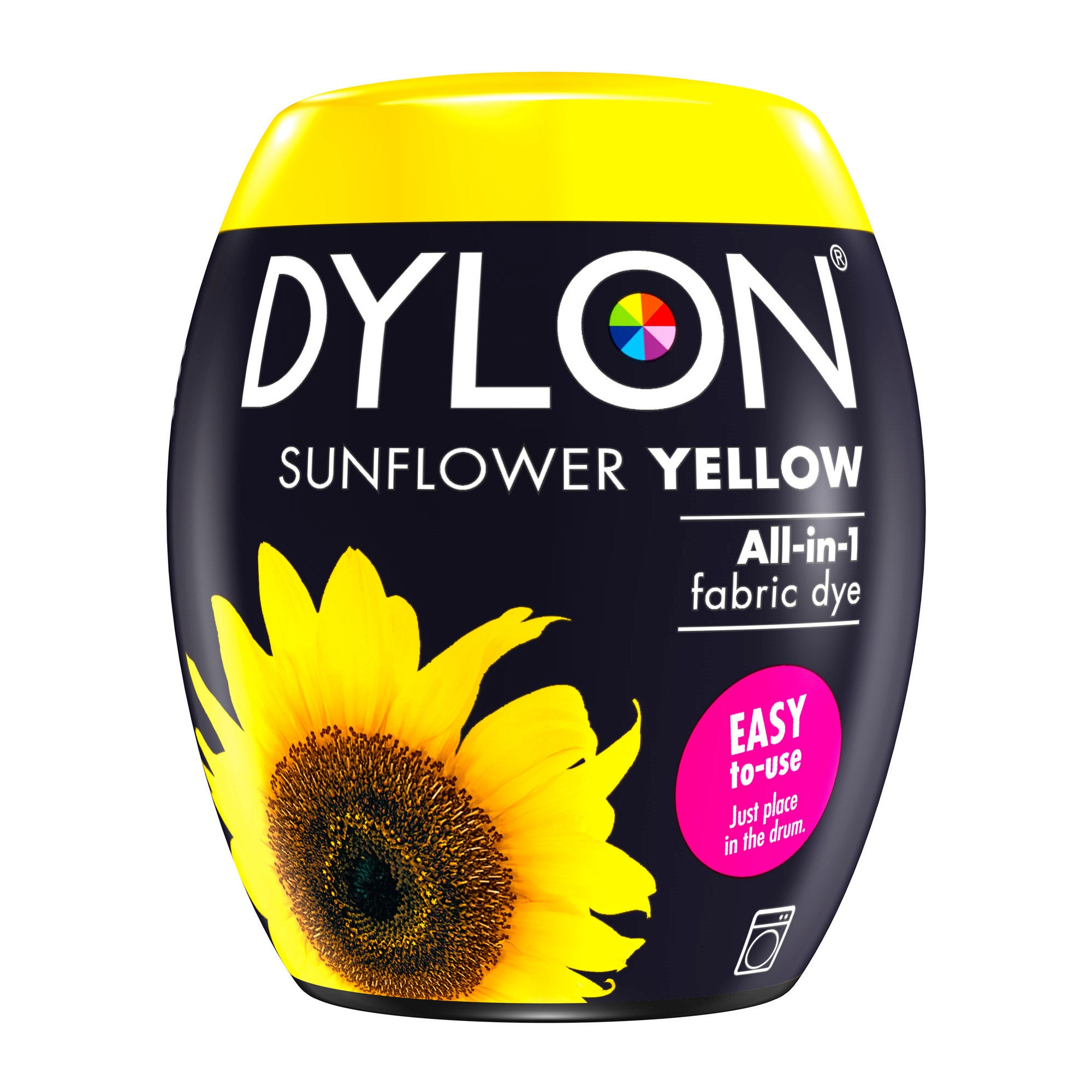 Image of Dylon Sunflower Yellow Machine Dye Pod Sunflower