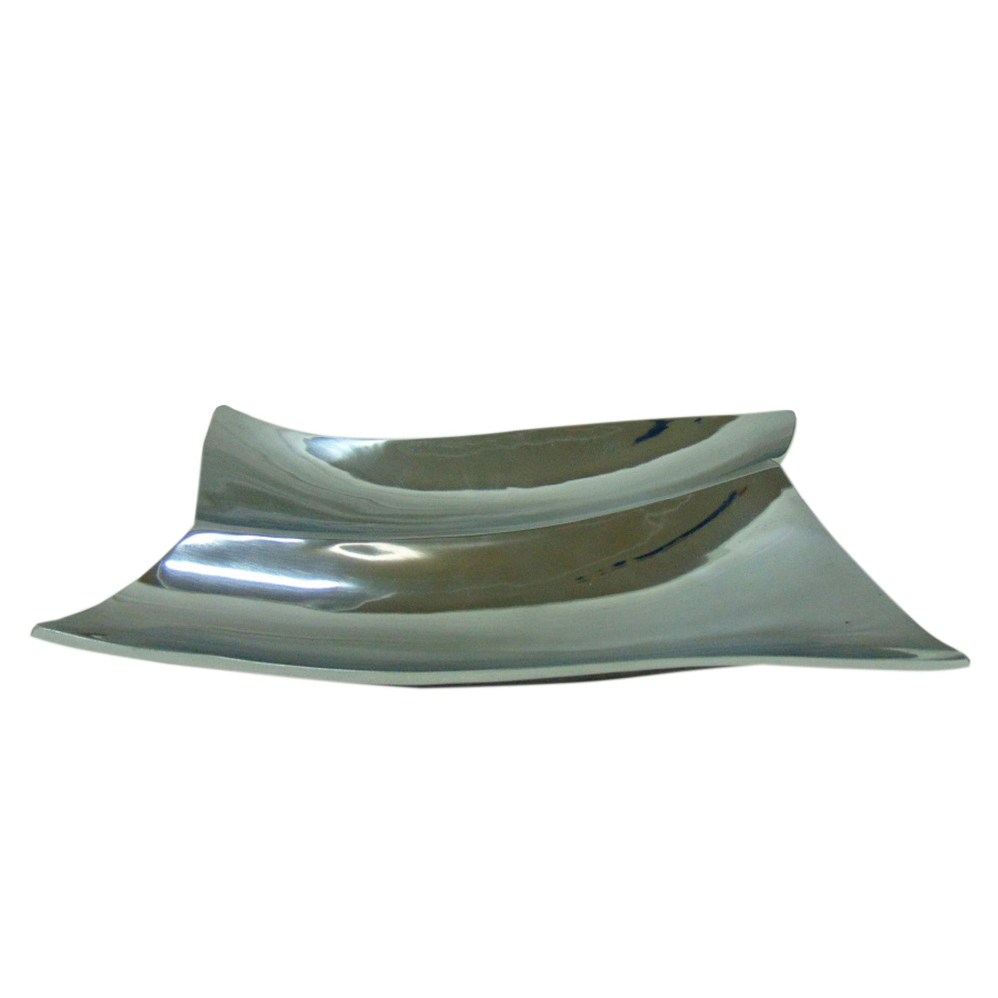 Image of 5A Fifth Avenue Aluminium Platter Silver