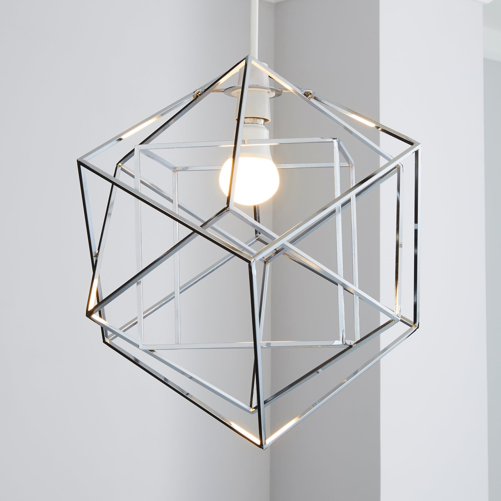 Image of 5A Fifth Avenue Chicago Dodecahedron Chrome Chrome