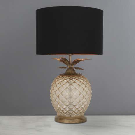 Captivating Havana Pineapple Table Lamp