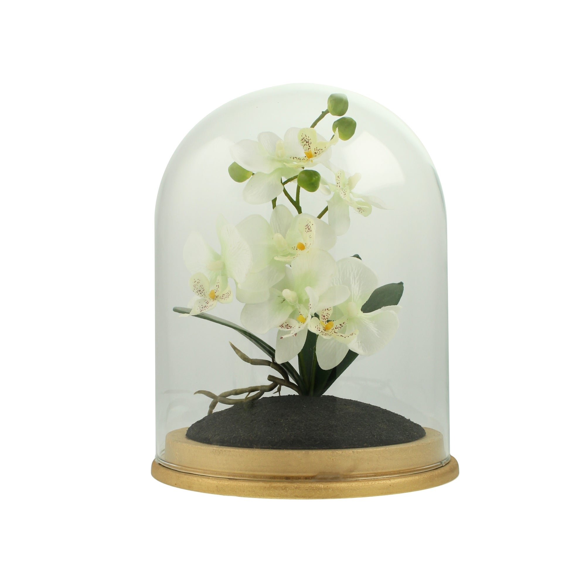 Image of Charge Large Oriental Flower Cloche Cream