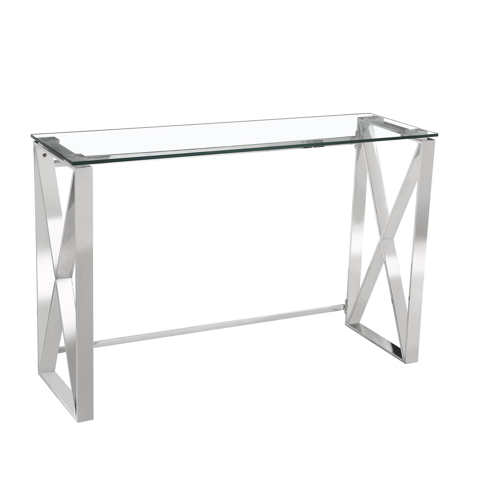 5A Fifth Avenue Madison Console Table Chrome