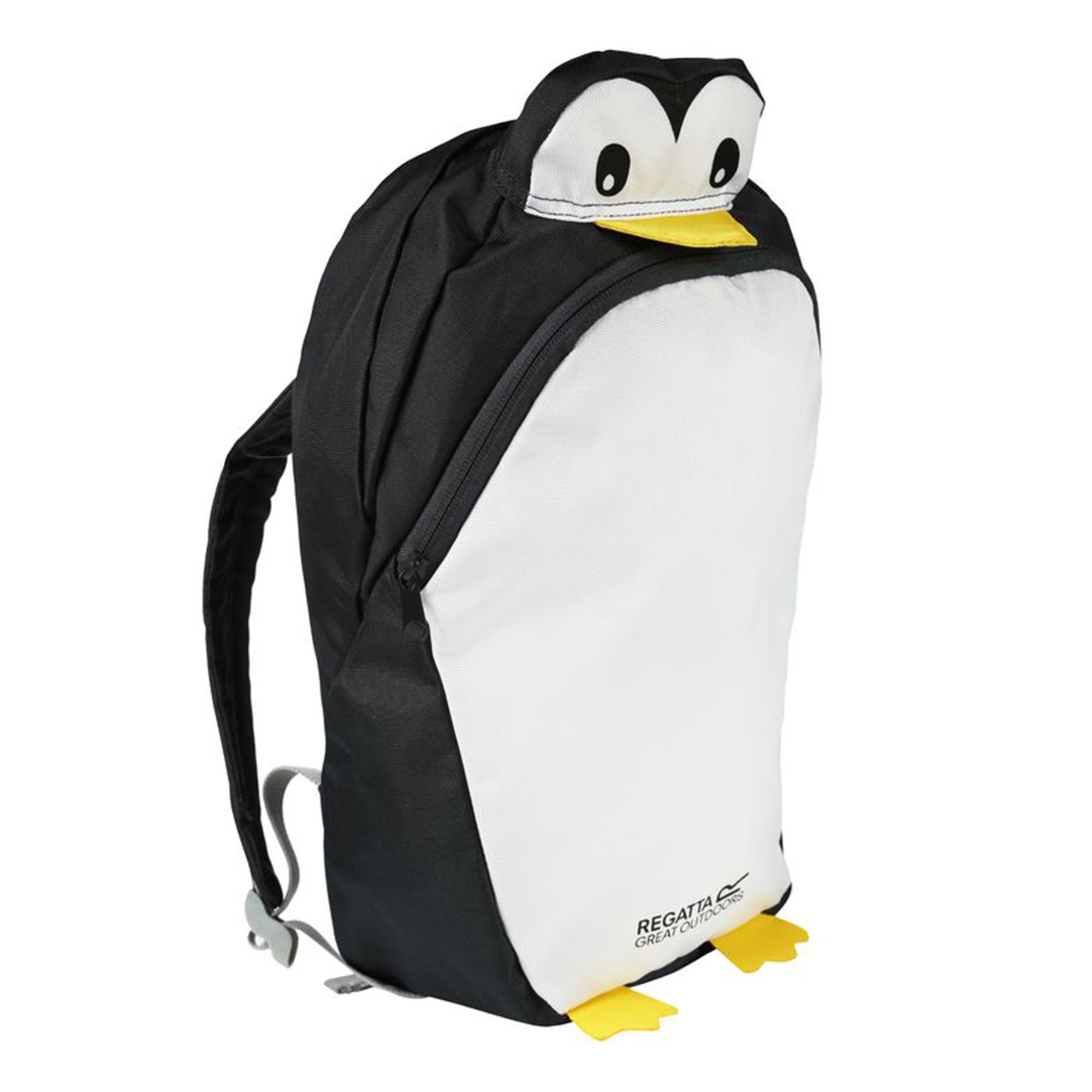Photo of Regatta zephyr penguin backpack black and white