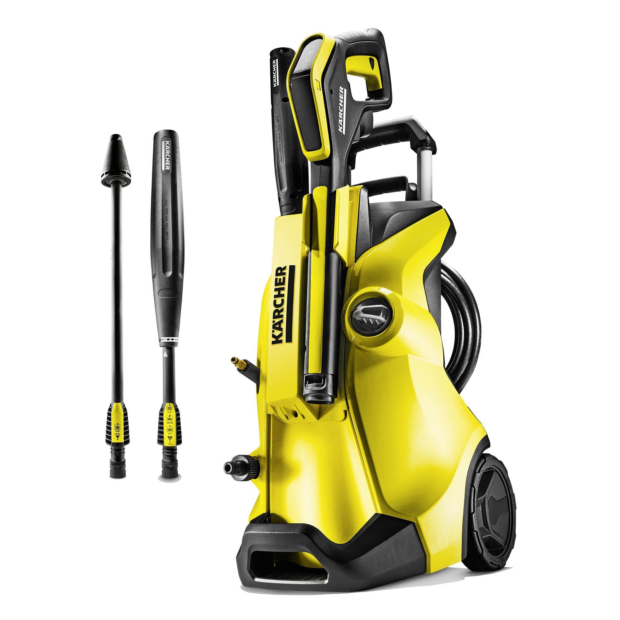Karcher K4 Full Control Pressure Washer Yellow