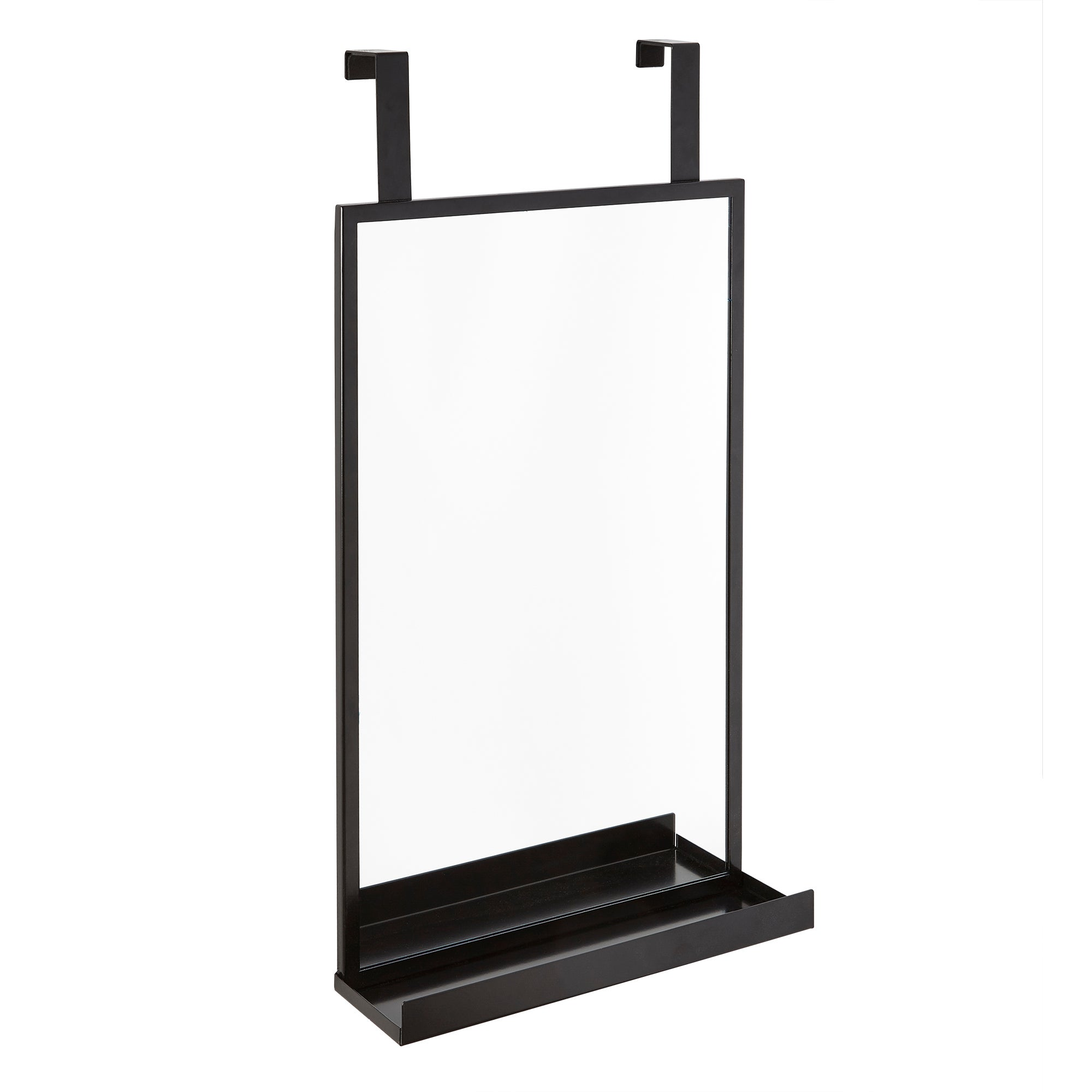 Photo of Hanging bathroom mirror black