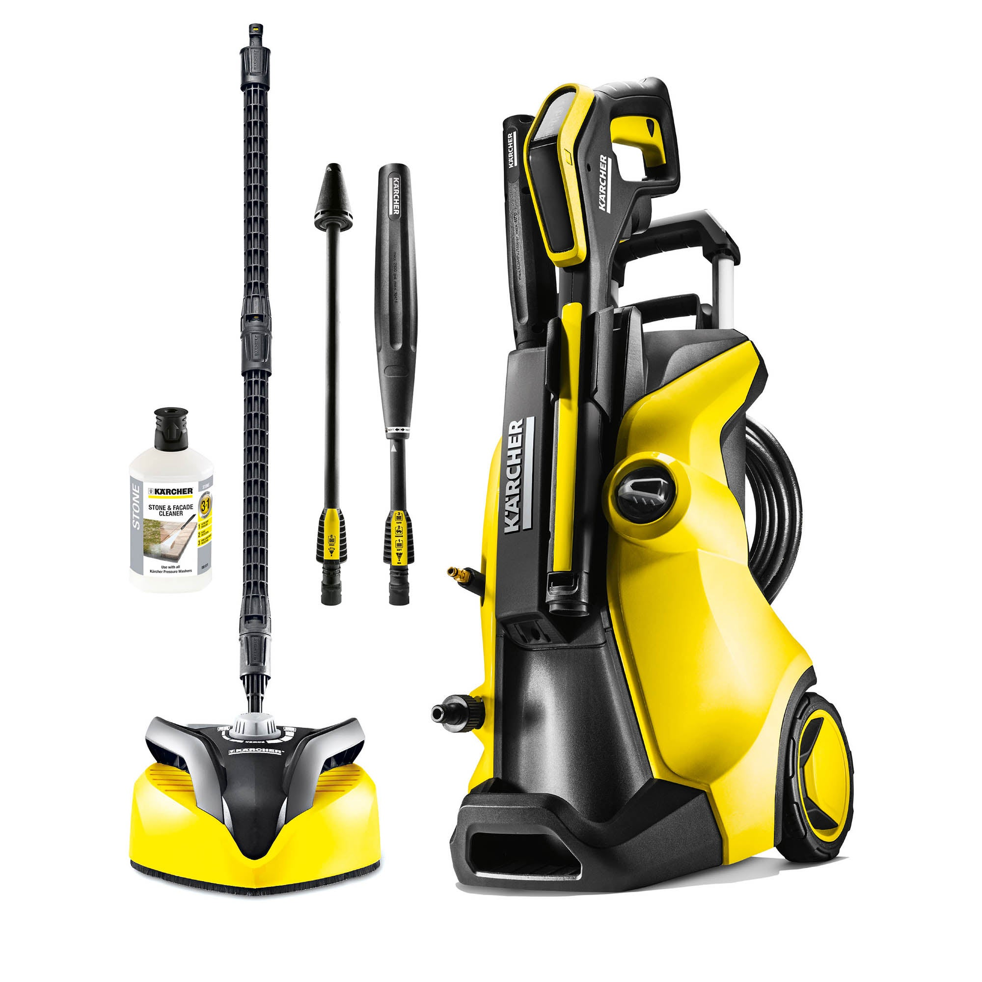Karcher K5 Full Control Home Pressure Washer Yellow