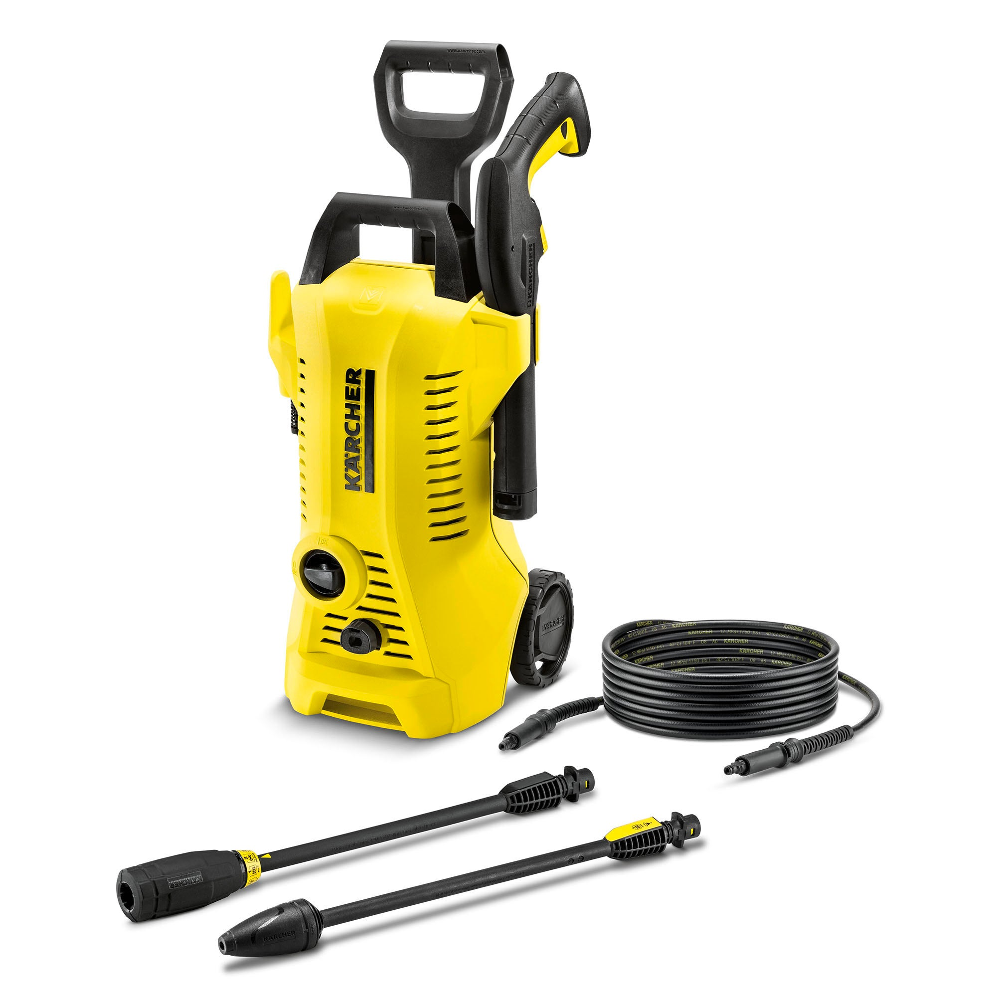 Karcher K2 Full Control Pressure Washer Yellow