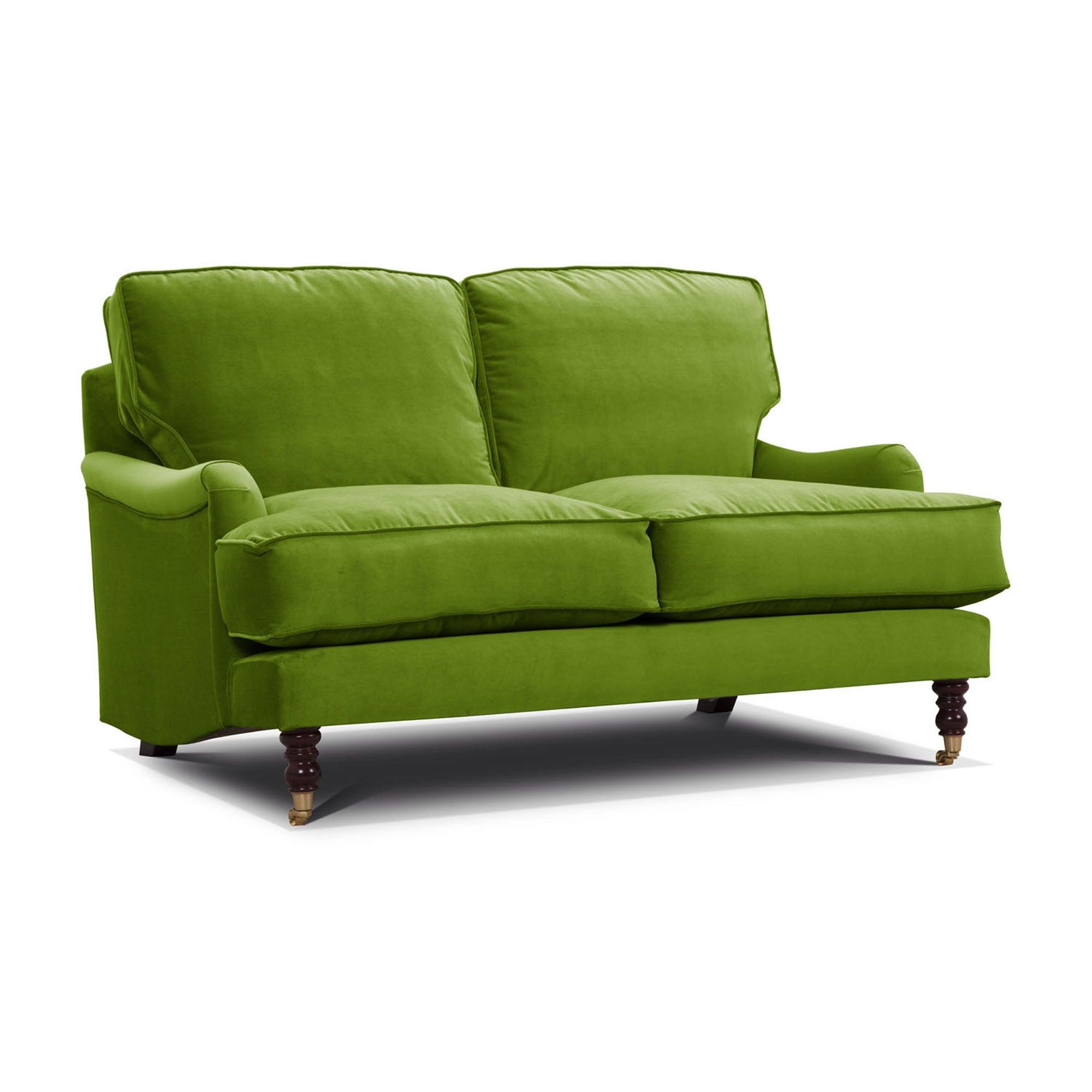 Photo of Annabelle italian velvet 3.5 seater sofa grass -green-