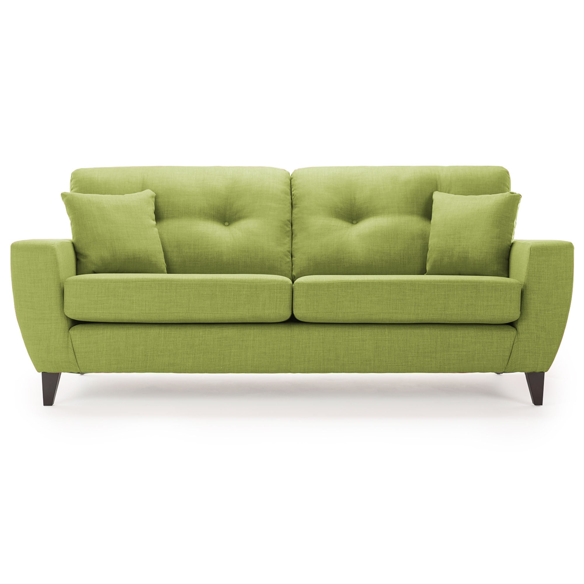 Click to view product details and reviews for Maybury Fabric 3 Seater Sofa Lime.