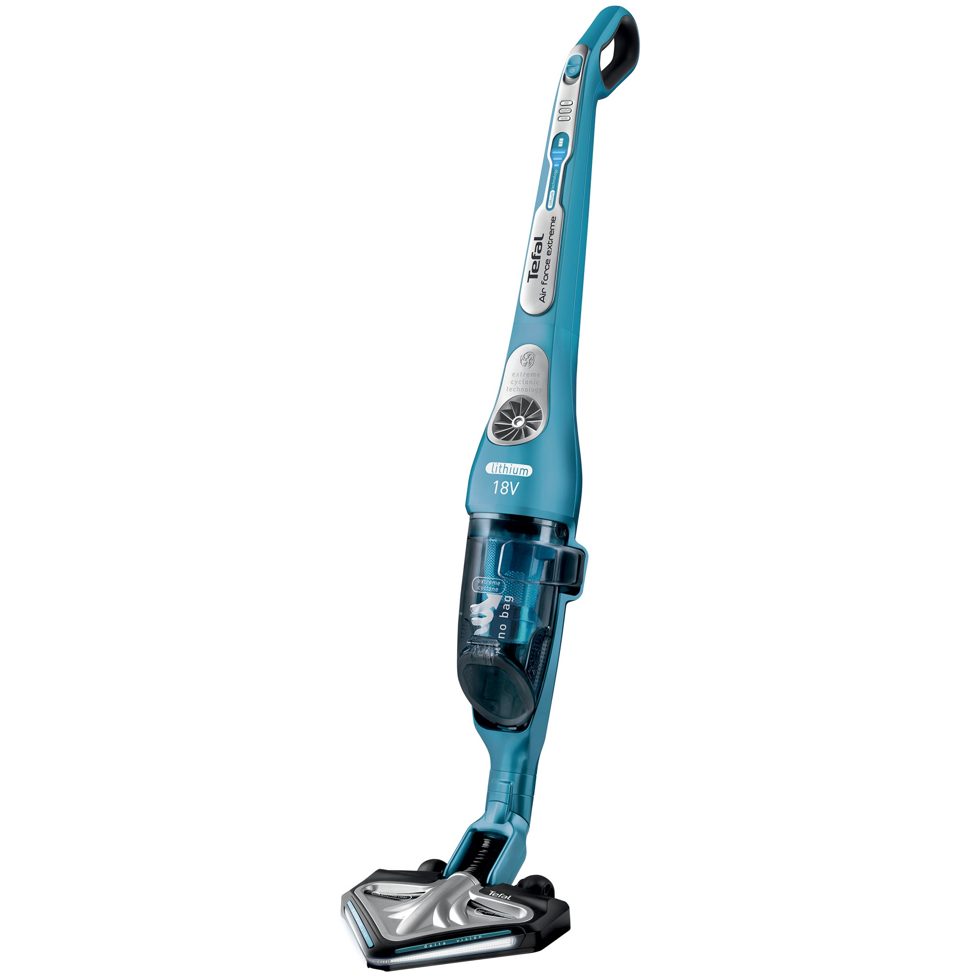 Tefal Air Force 18V Upright Vacuum Cleaner Blue
