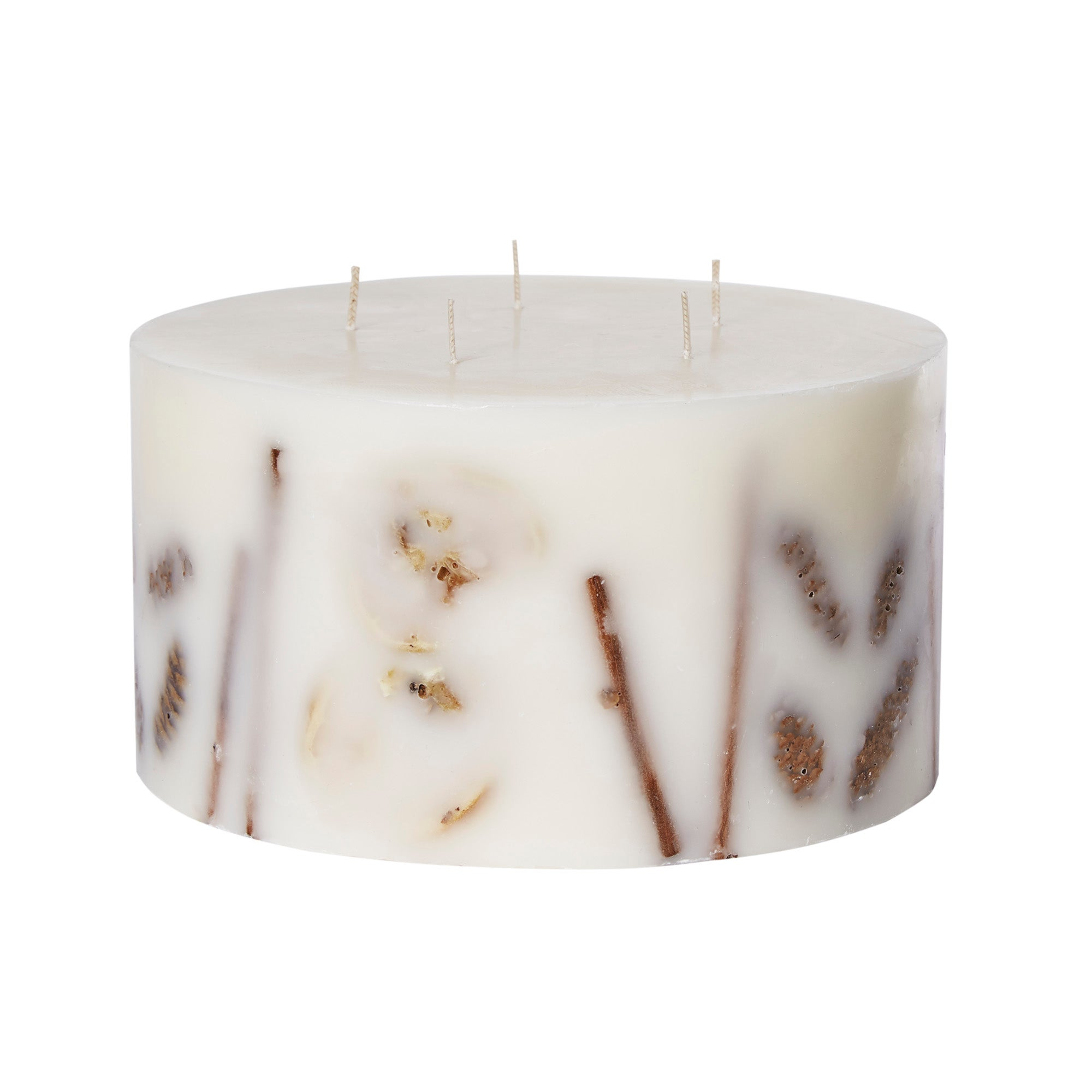 Photo of Large 5 wick winter spice inclusion candle cream
