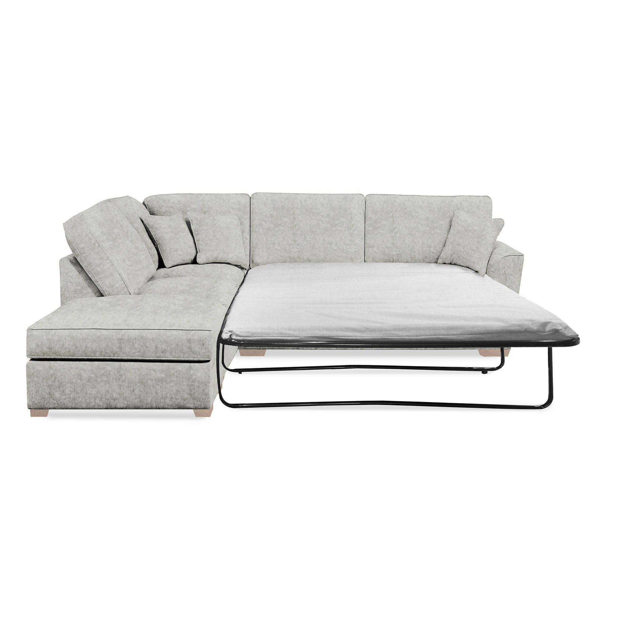Click to view product details and reviews for Grosvenor Left Hand Corner Sofa Bed Starlet Silver.