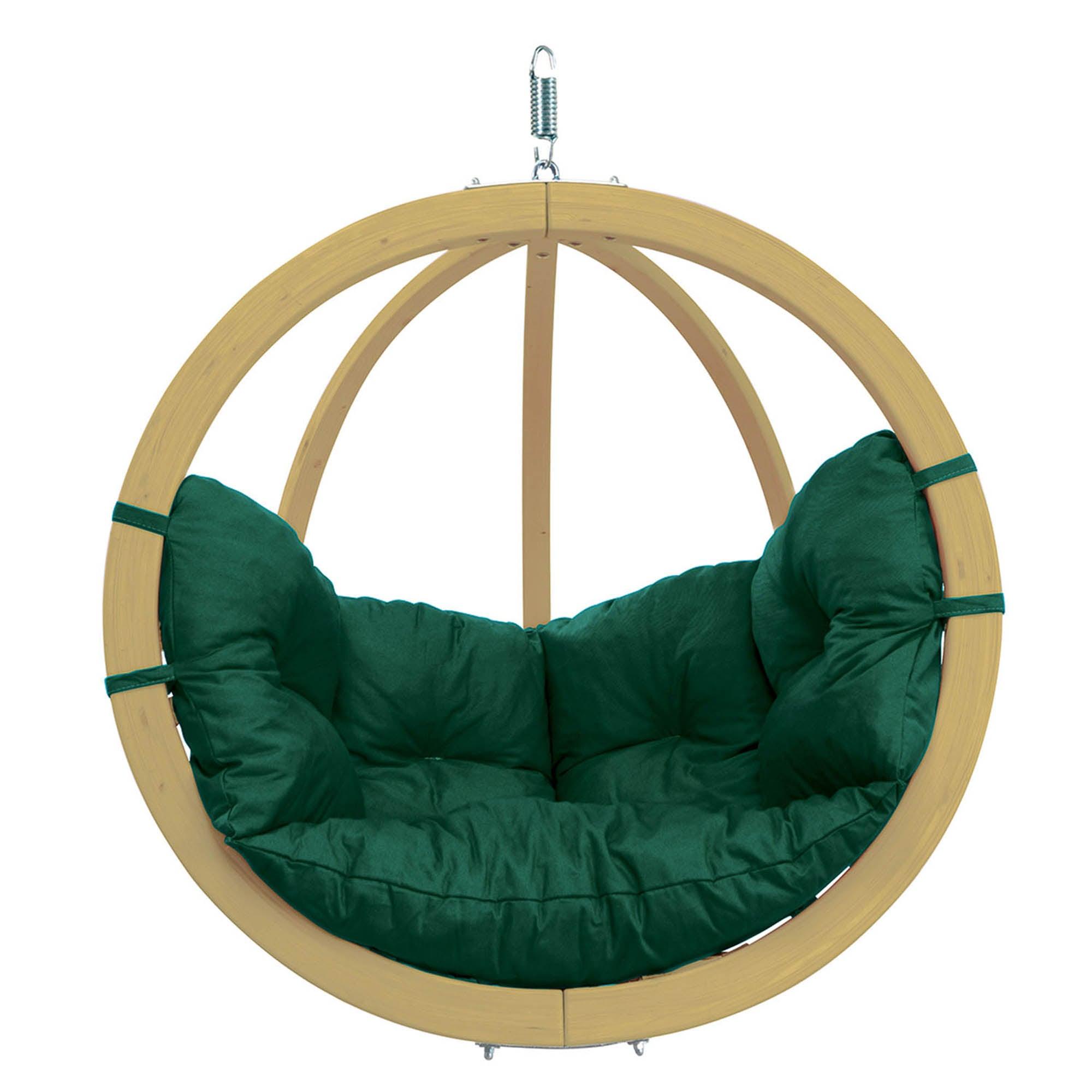 Amazonas Globo Weatherproof Green Hanging Chair Green