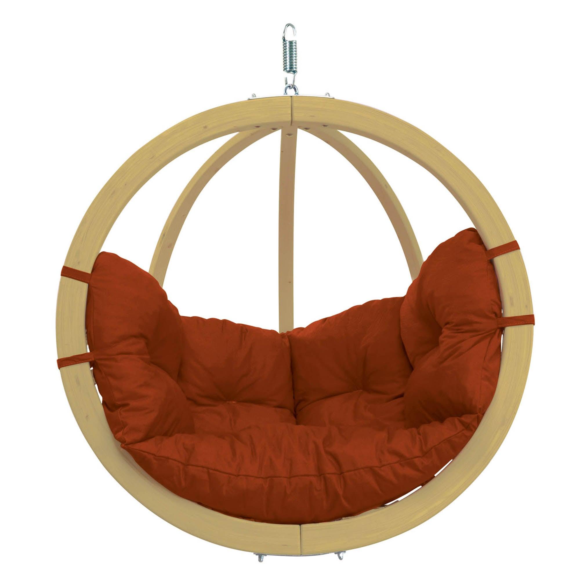 Amazonas Globo Terracotta Hanging Chair Terracotta