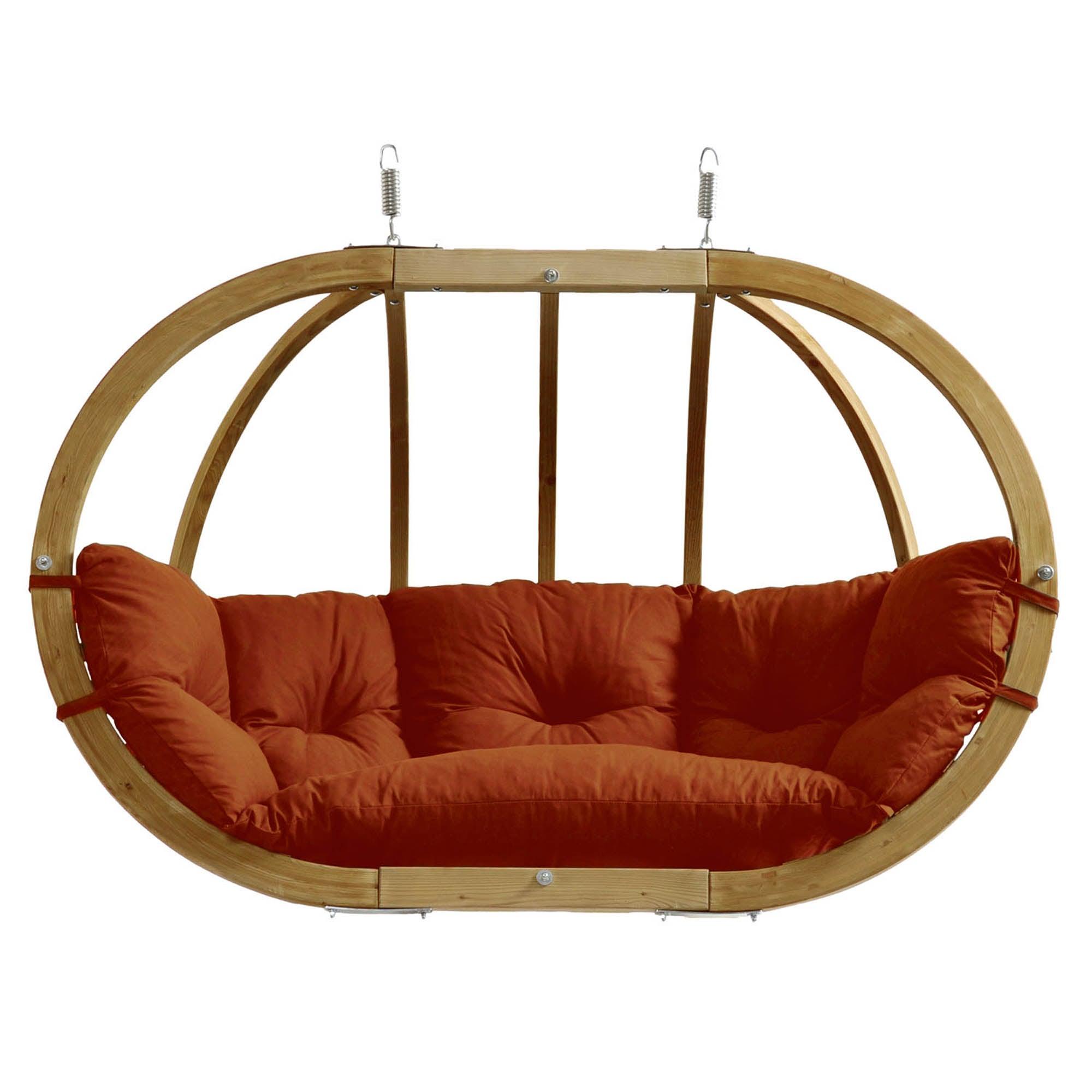 Amazonas Globo Royal Terracotta Hanging Chair Terracotta