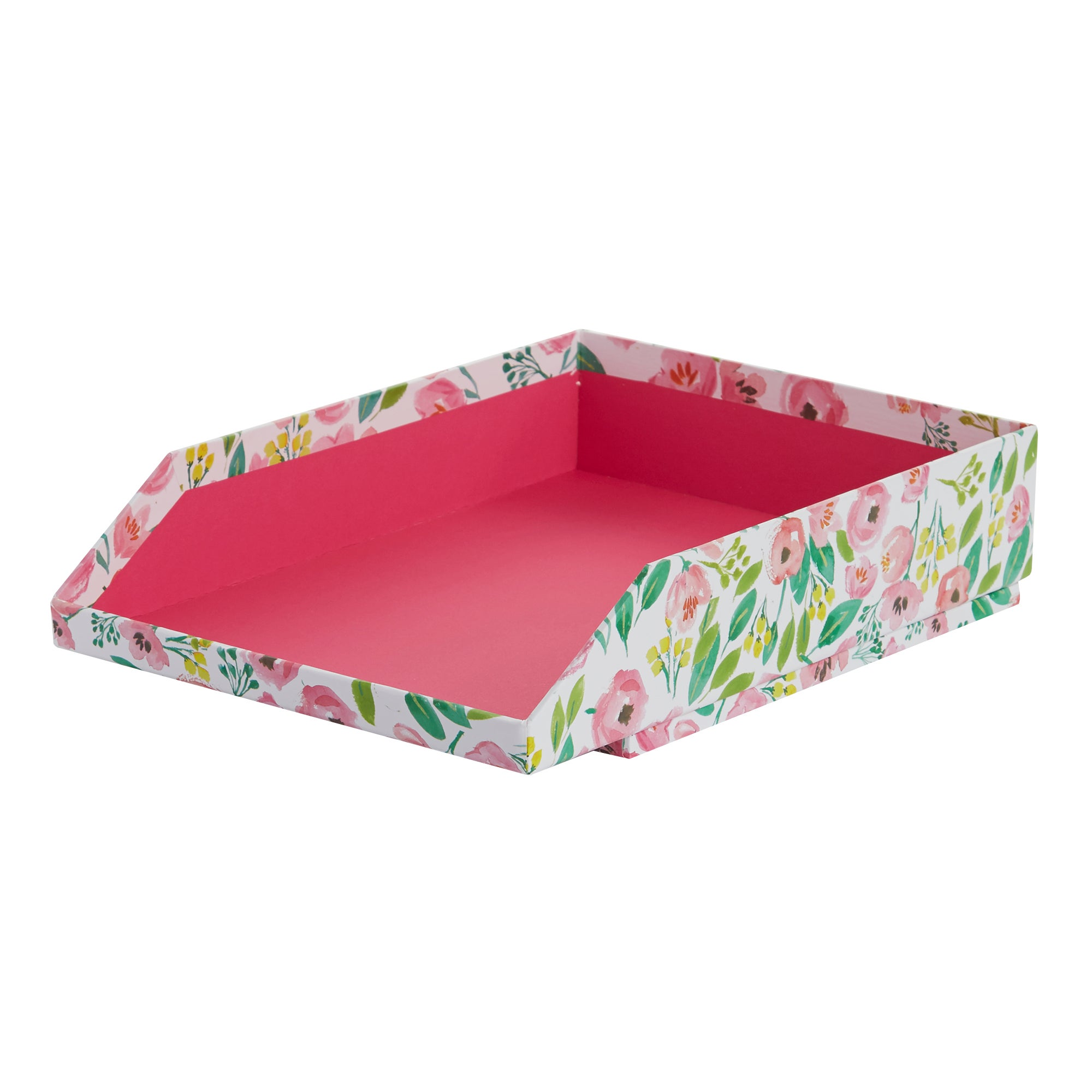 Image of Pink Flower In Tray Pink