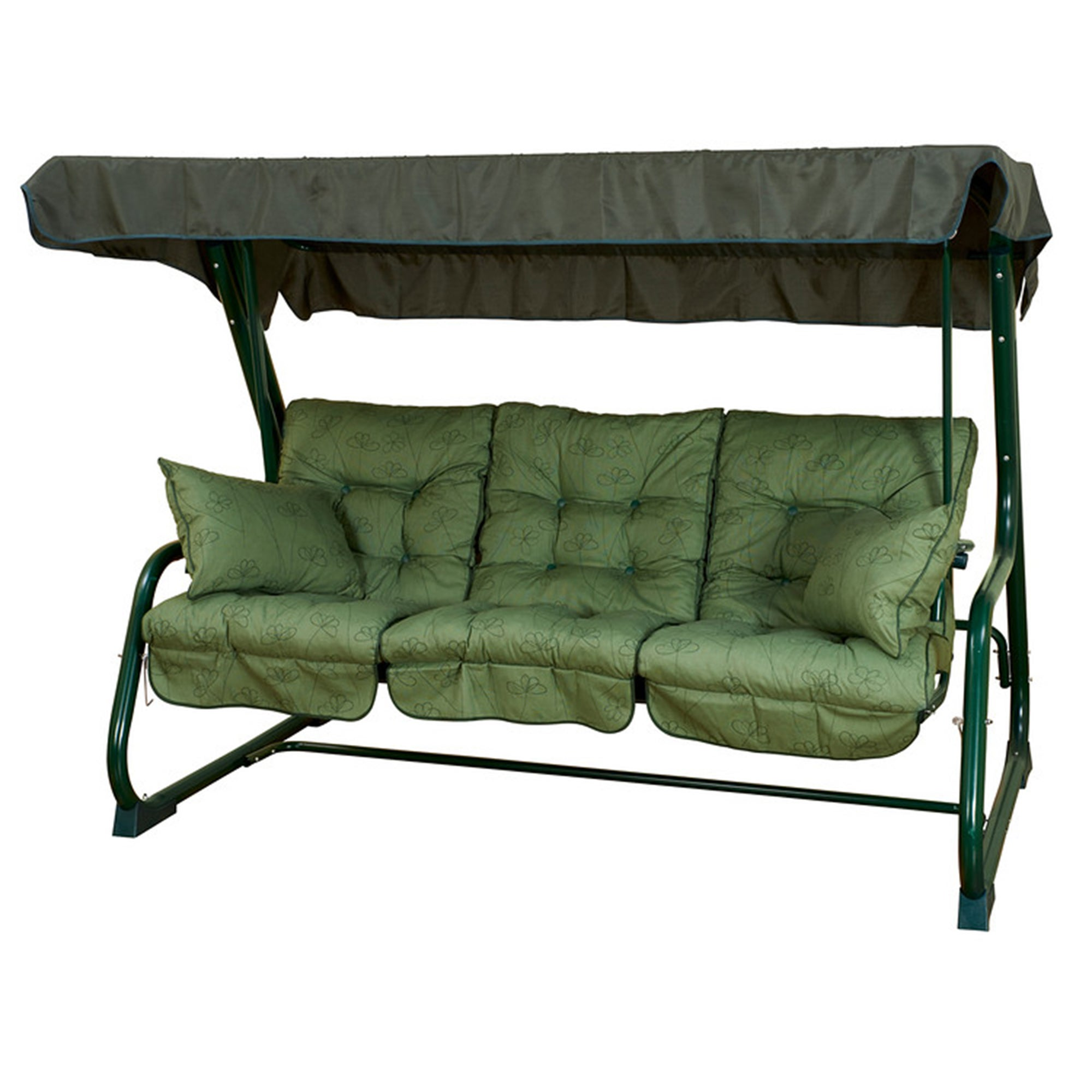 Glendale Pendulum Swinging Bed Hammock in Sage Green