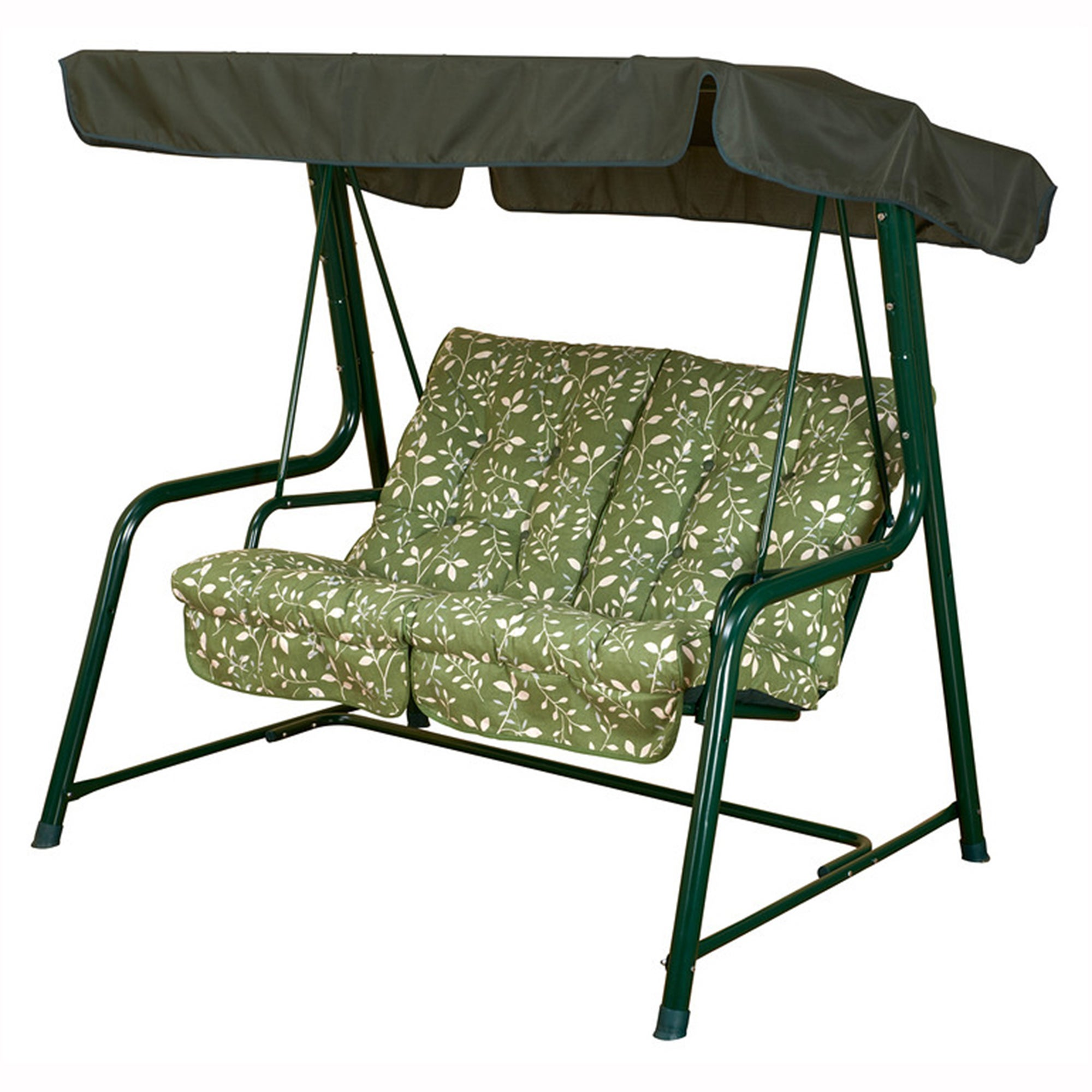 Glendale Country Green Vienna 2 Seater Swing Seat Green